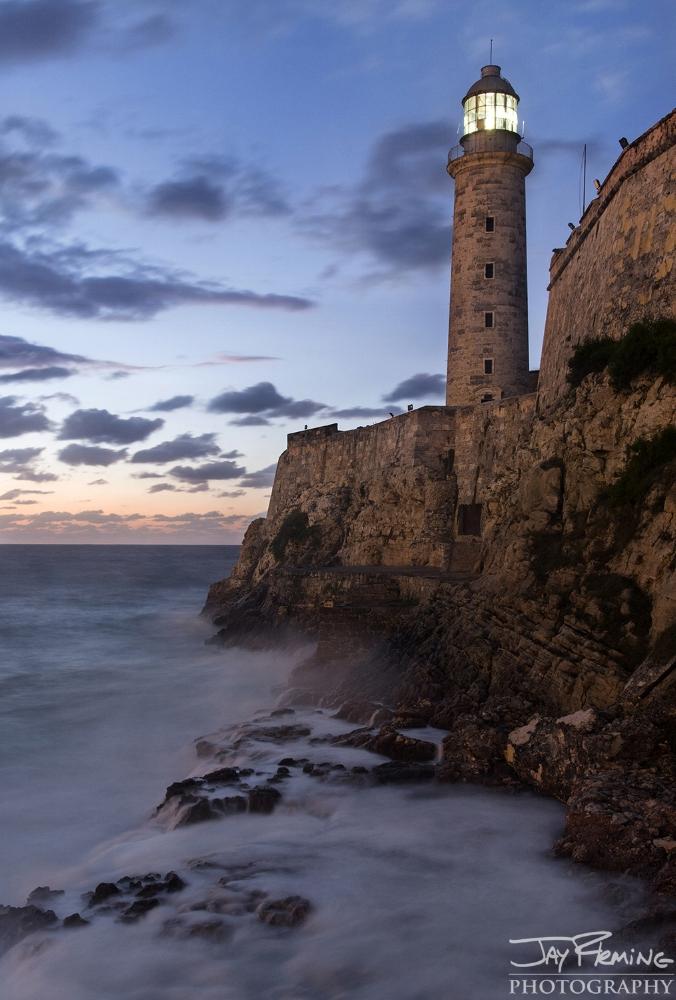 Castillo del Morro light. Havana