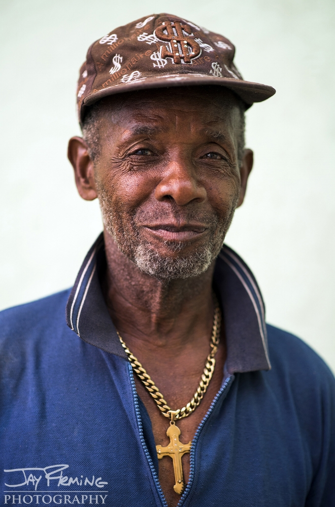 Bernbe Hernandez works a construction job in Havana. His monthly salary of 400 Cuban Pesos is equivalent to $15.00, a wage that is barely livable.
