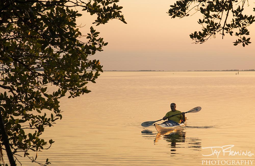 Kayaking in Pine Island Sound near Pineland