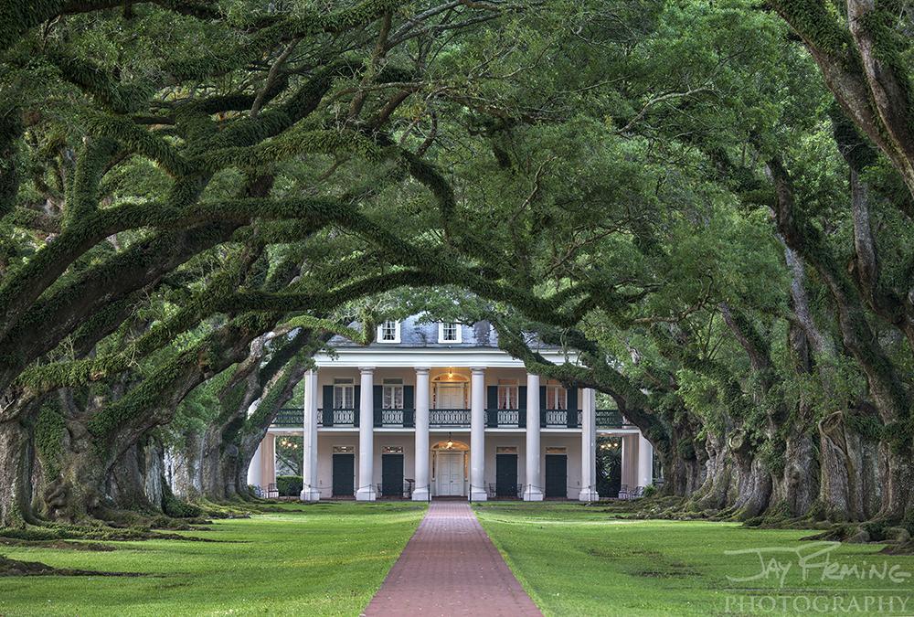 Oak Alley Plantation near Vacherie, Louisiana