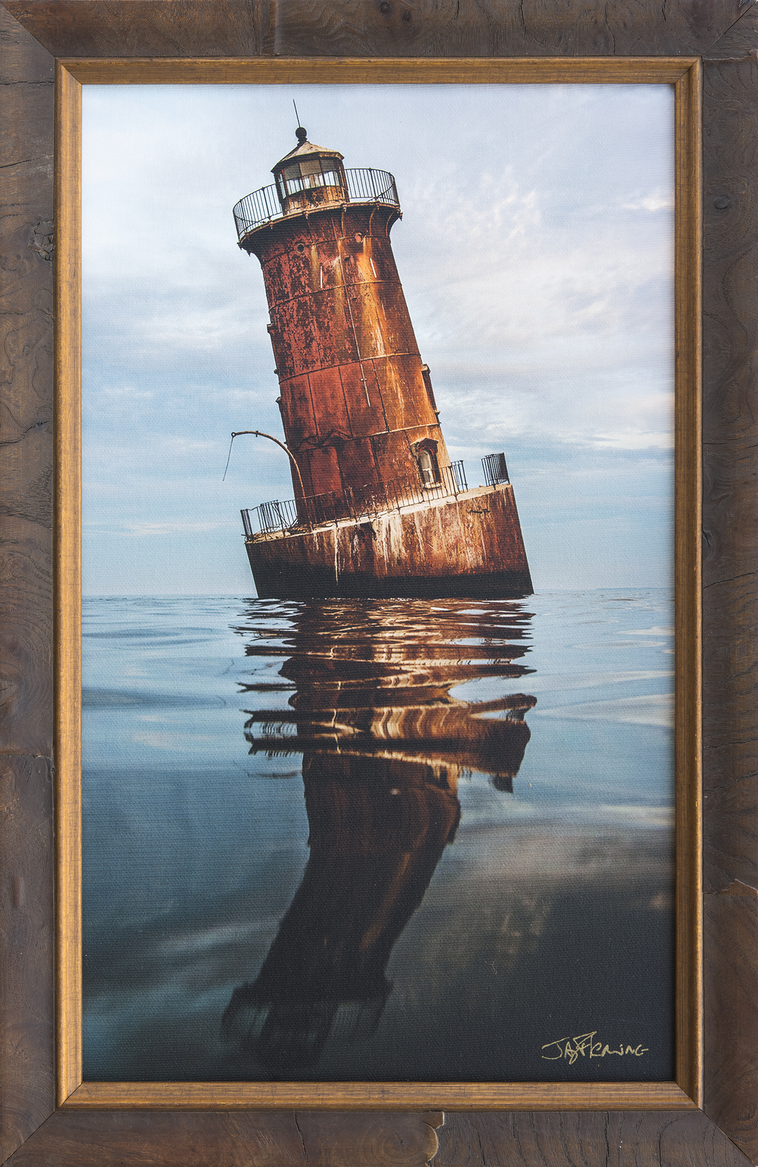 Custom Framed Canvas Print- © Jay Fleming02.jpg