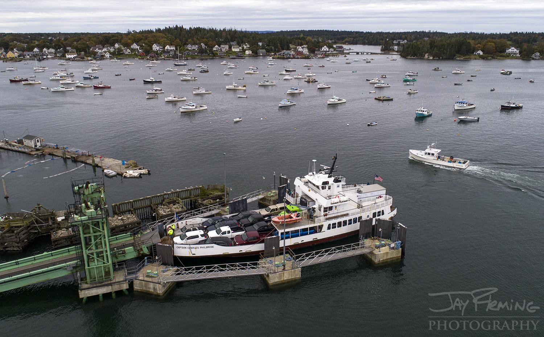 Carver's Harbor on Vinalhaven Island.