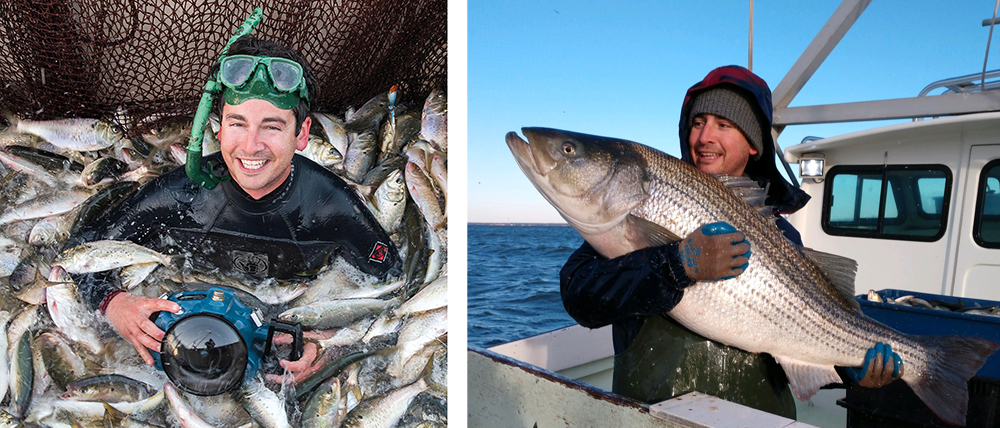 Portraits of Jay while documenting the Chesapeake Bay seafood industry.