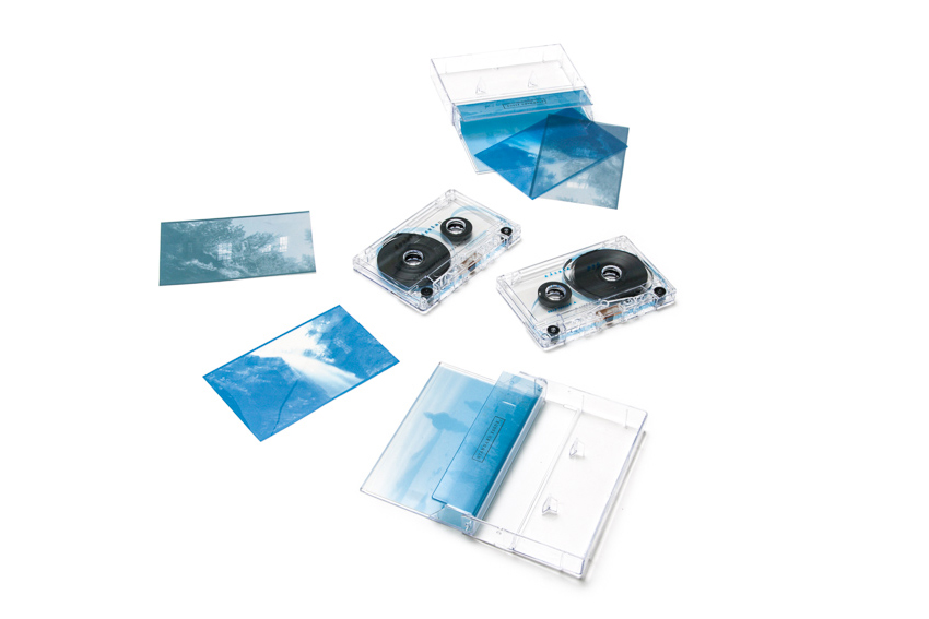 Double Alaska  was released on a limited edition cassette tape by Standard Issue, featuring stills from the film printed on transparent plastic - - - designed by Alex Tatusian