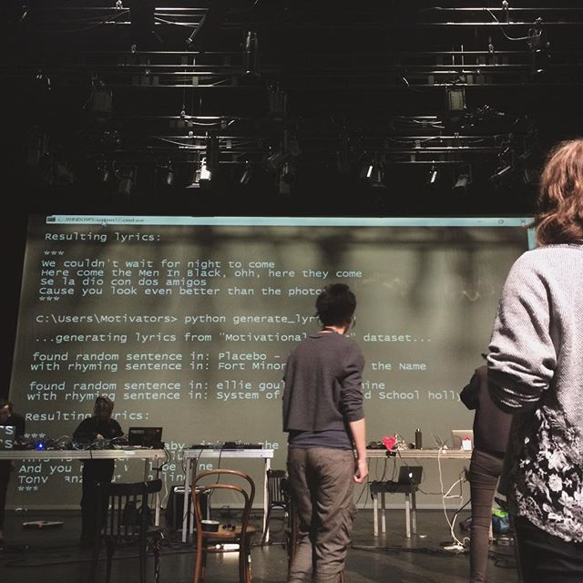 #musicmakershacklab #finale #generative #lyrics #soundcheck