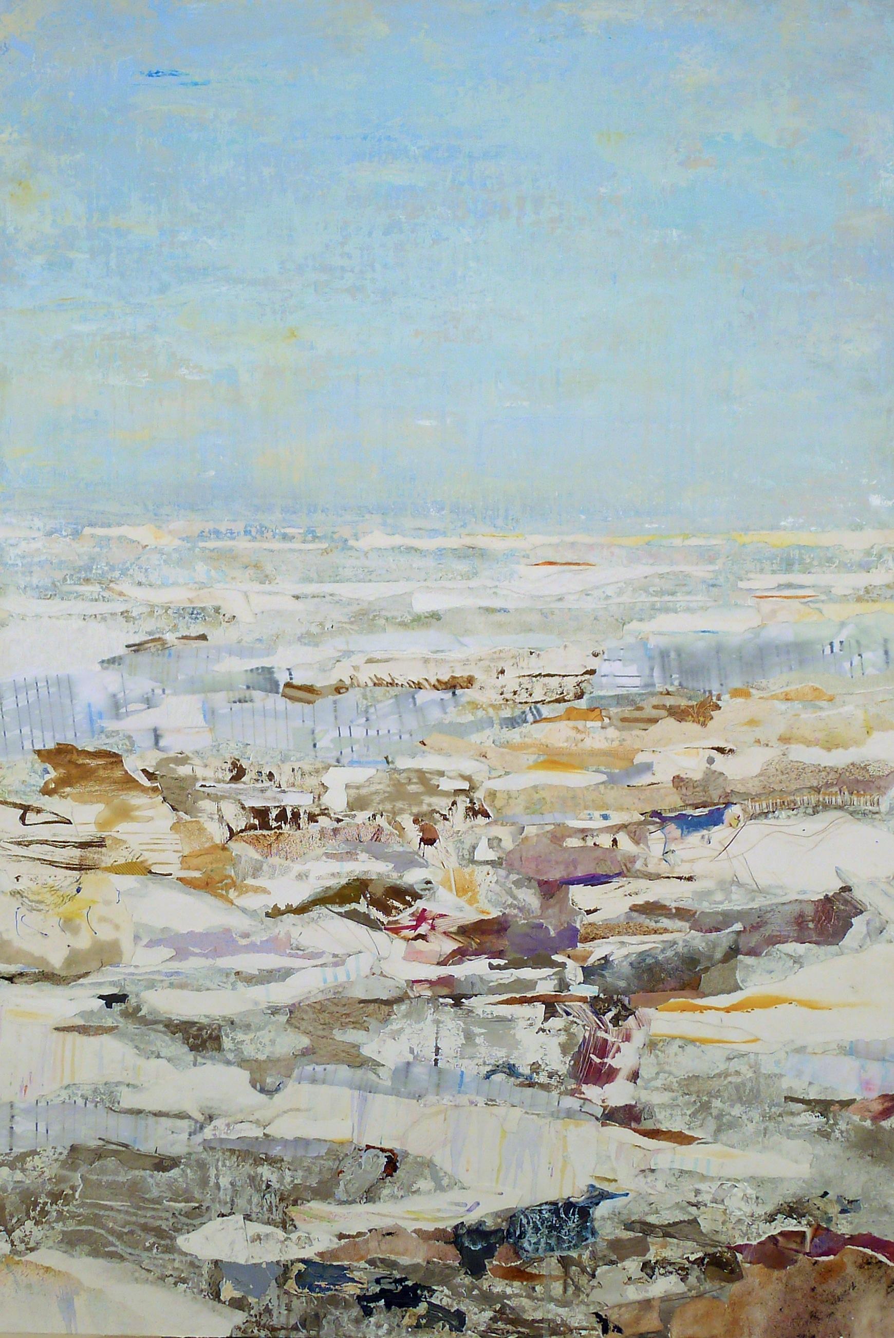 Brenda Cirioni,Passage, mixed media, 48x32, $3,200