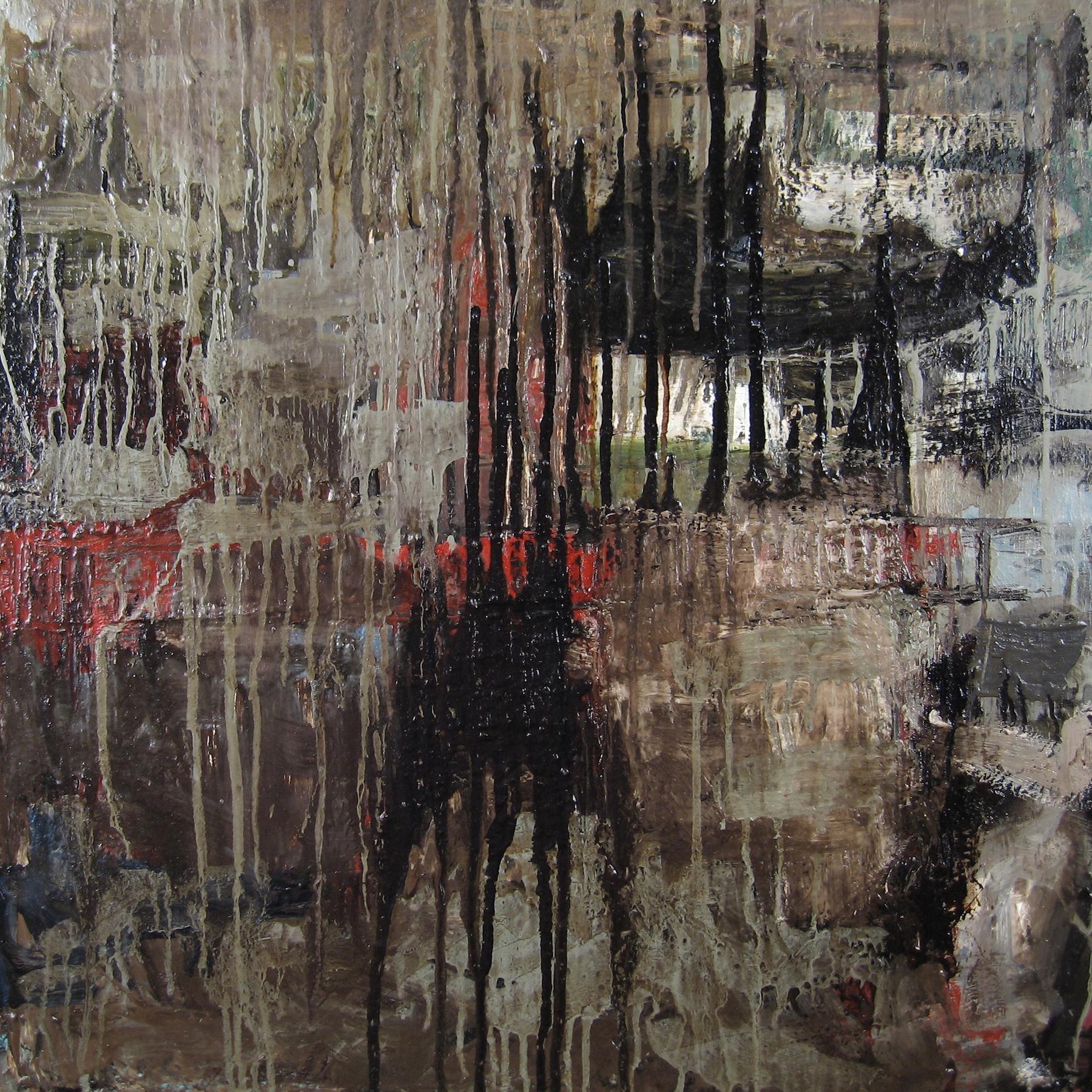 Leslie Zelamsky, Ayeka II: Where Are You?, mixed media, 24x24, $1,500