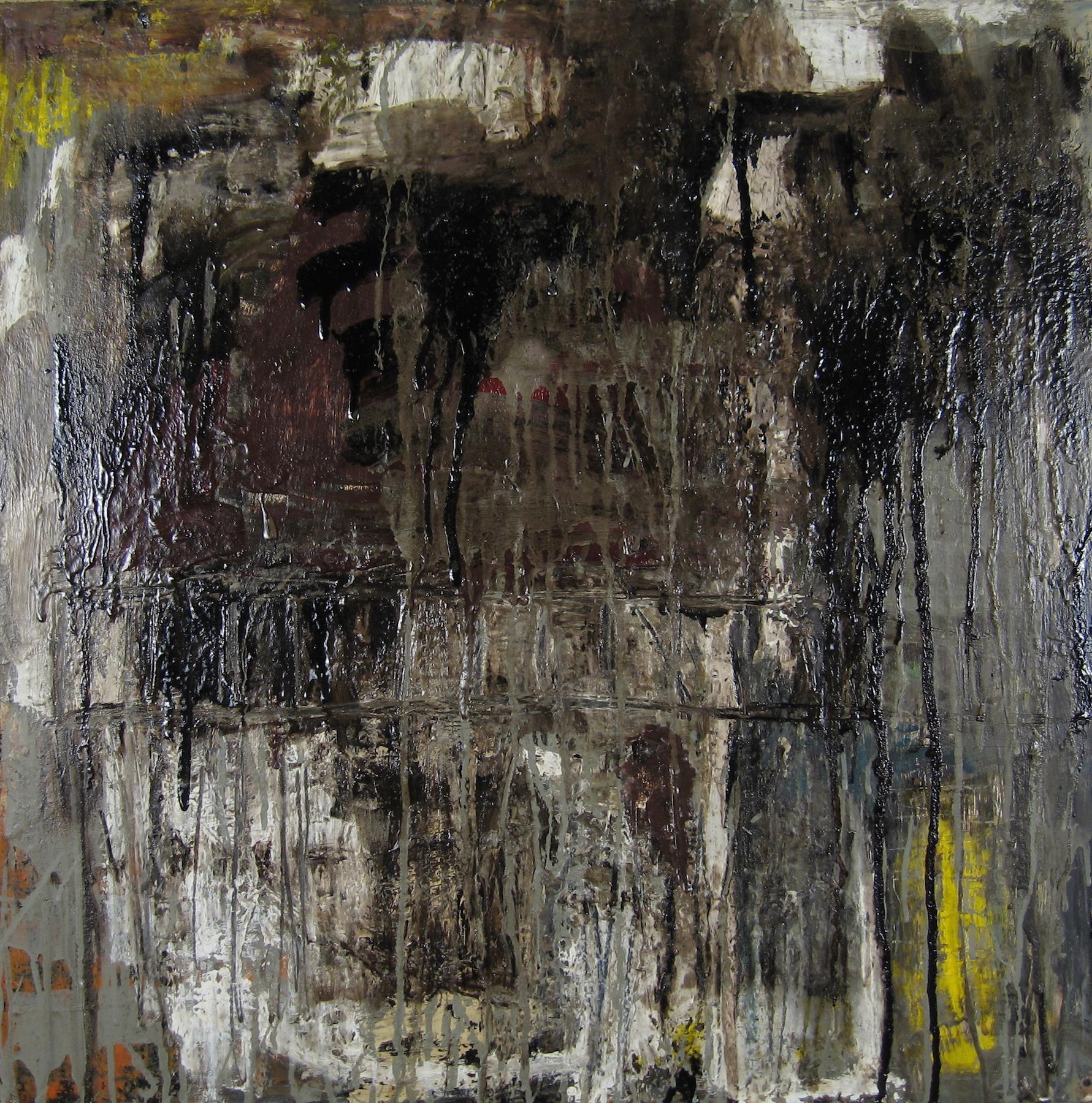 Leslie Zelamsky, Ayeka III: Where Are You?, mixed media, 24x24, $1,500
