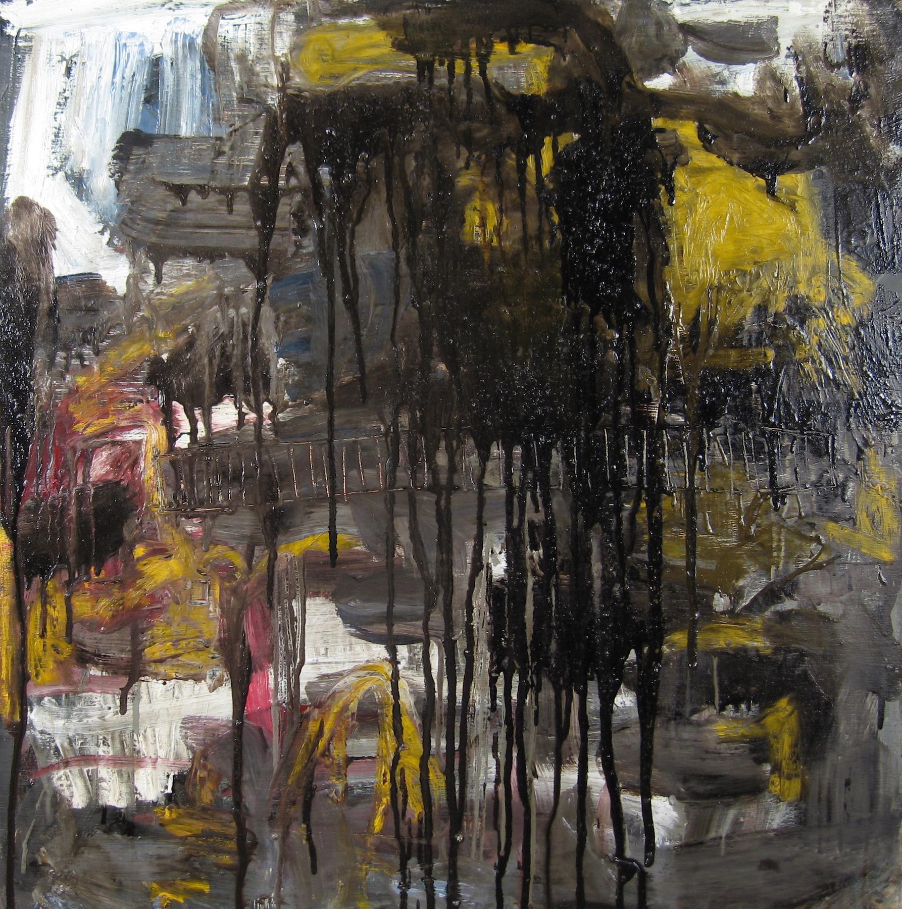 Leslie Zelamsky, Ayeka IV: Where Are You?, mixed media, 24x24, $1,500