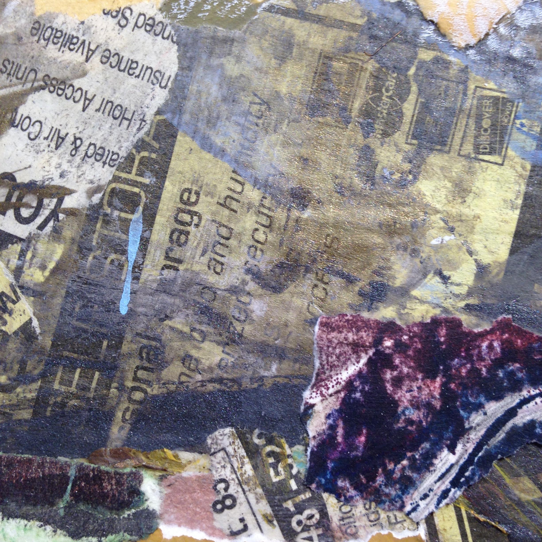 Detail from  Familiar Terrain  by Brenda Cirioni