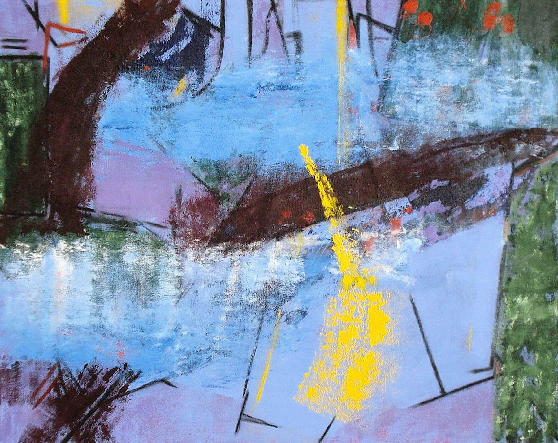Pat Paxson ,  Gleam , acrylic on canvas, 24x30