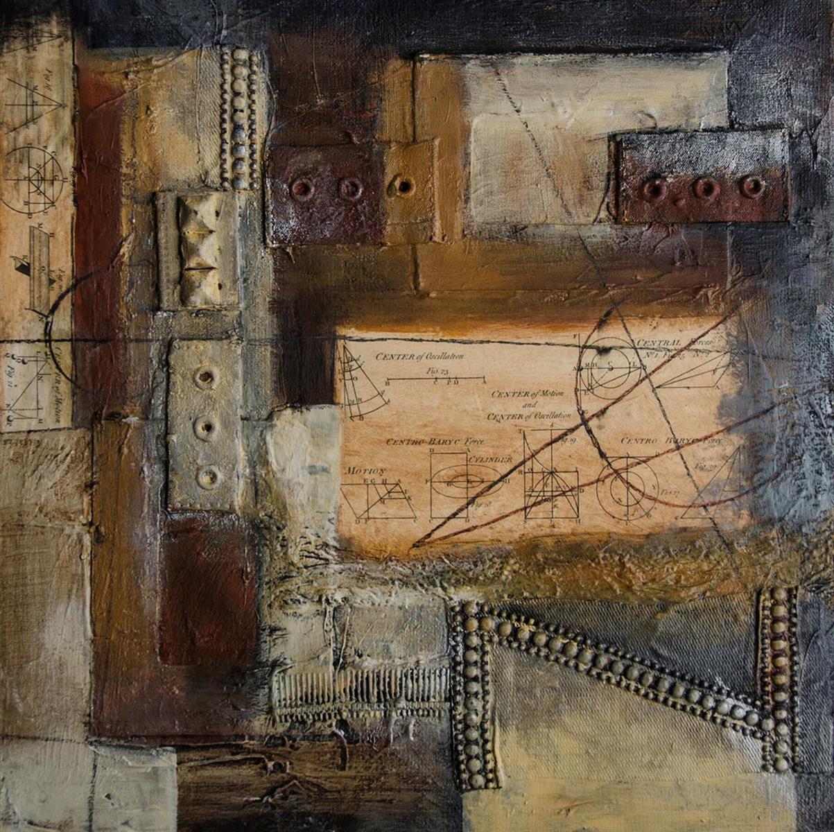 Sandee Johnson,   Work Ethic 22  , 16x16
