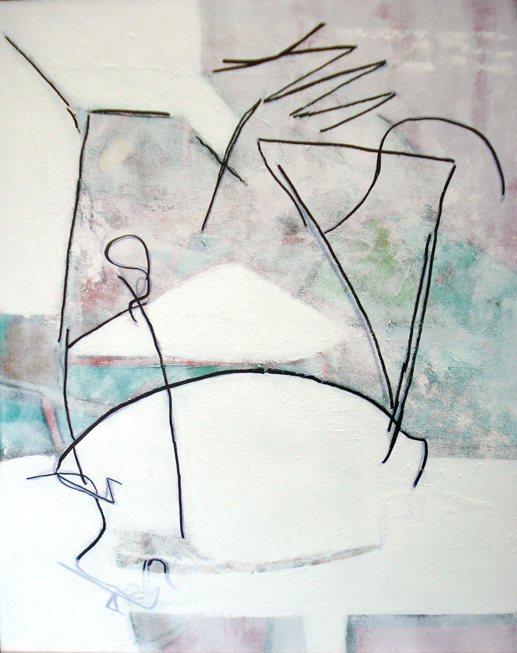 Pat Paxson, Fragility , mixed media on canvas, 30x24