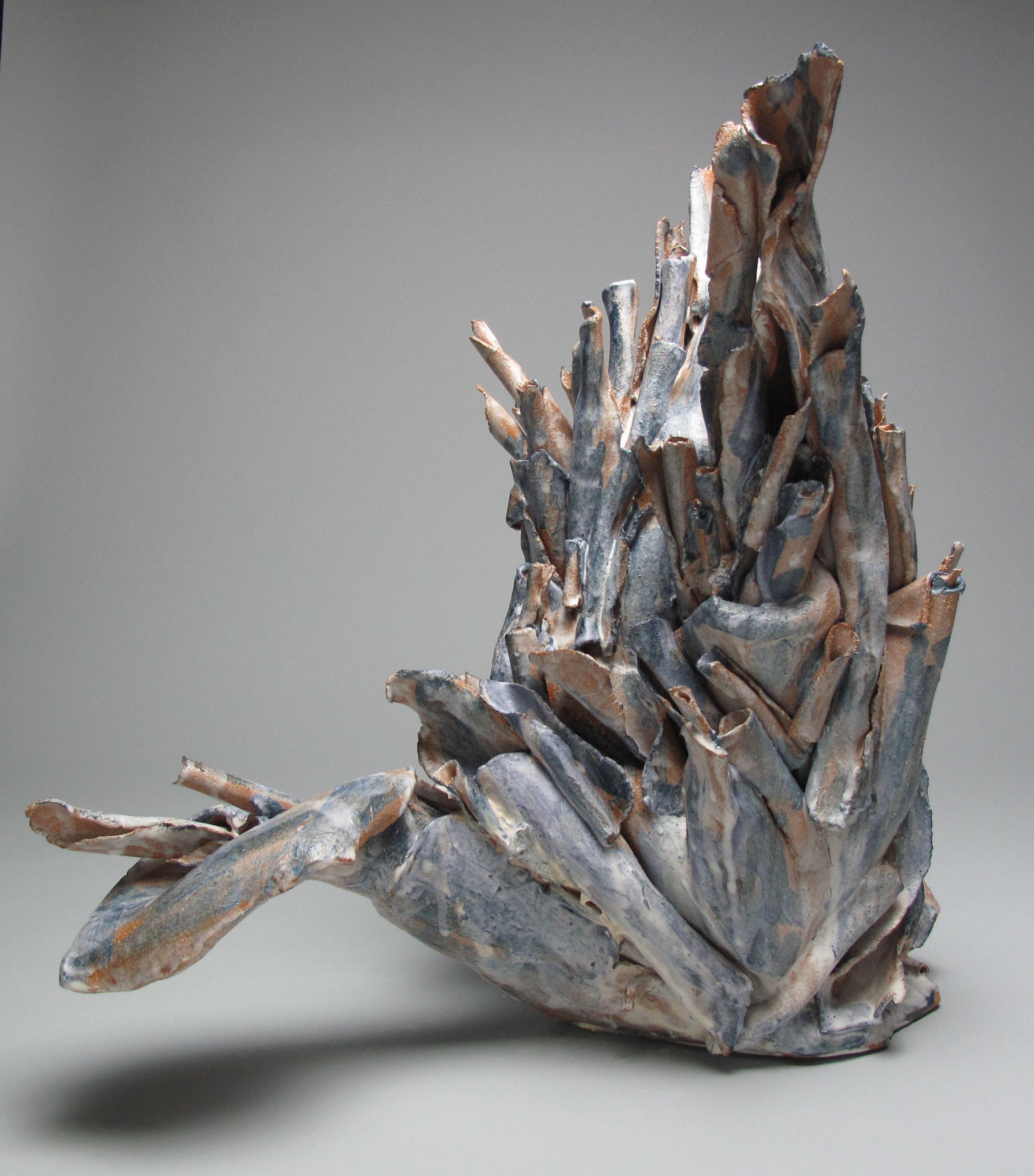Sara Fine-Wilson,  Root , Clay, 16x14x18