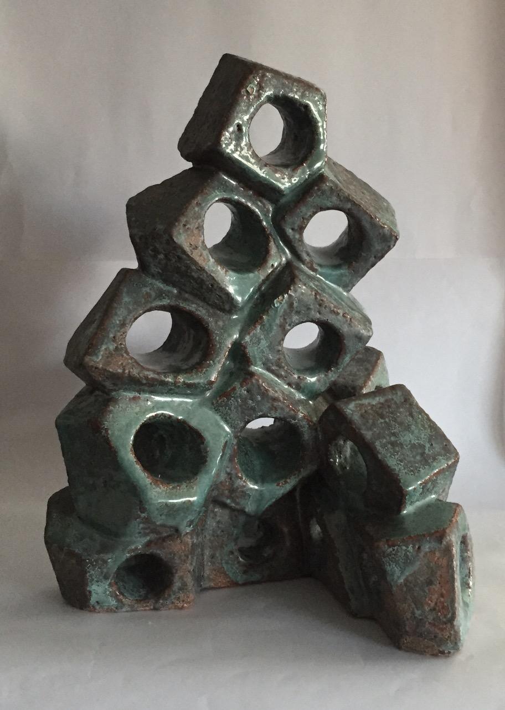 Jaffa Gross,  Fantasy , Glazed ceramic sculpture, 13x12x15