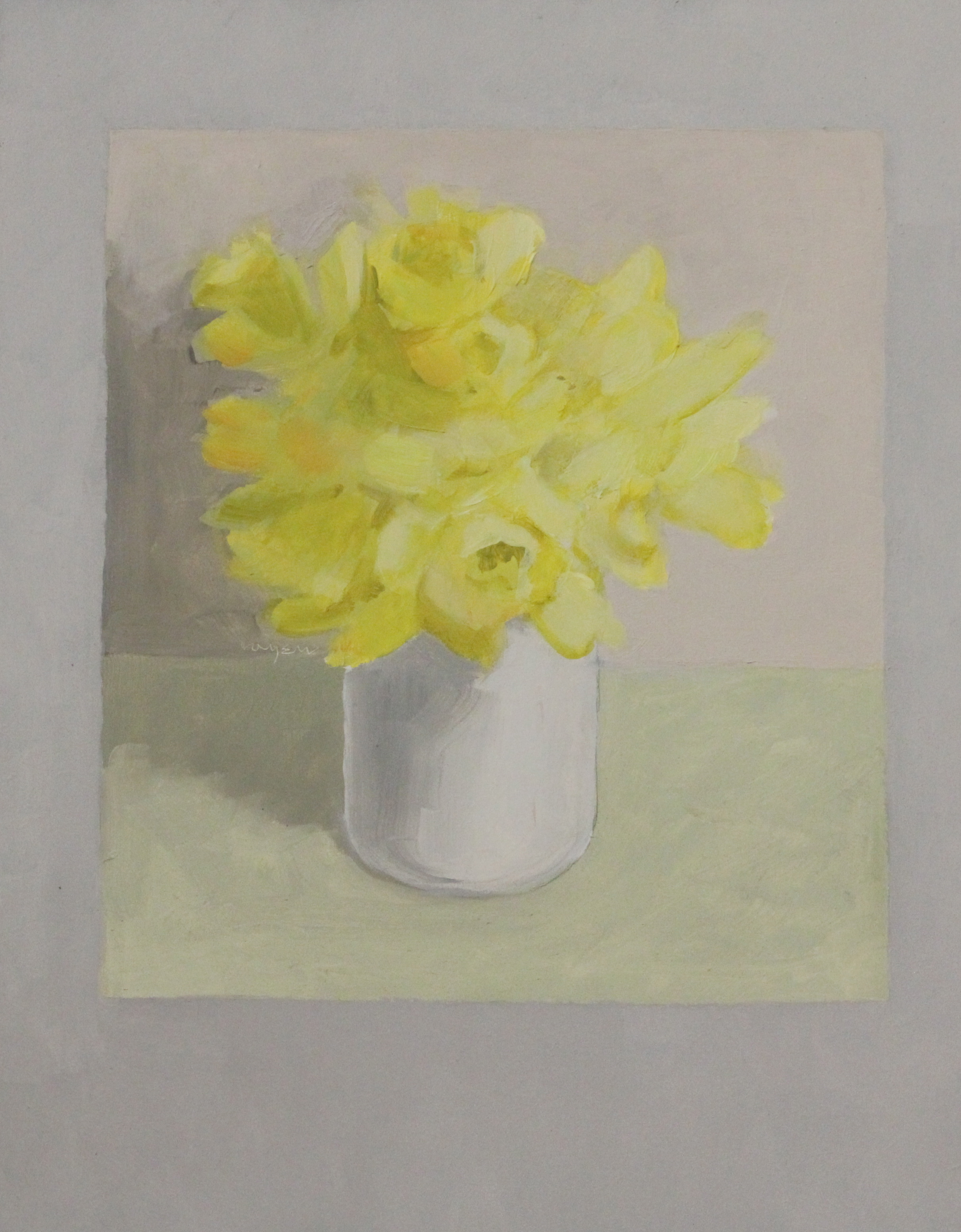 Flower #2 (Yellow Flower)- 11x14%22 .JPG