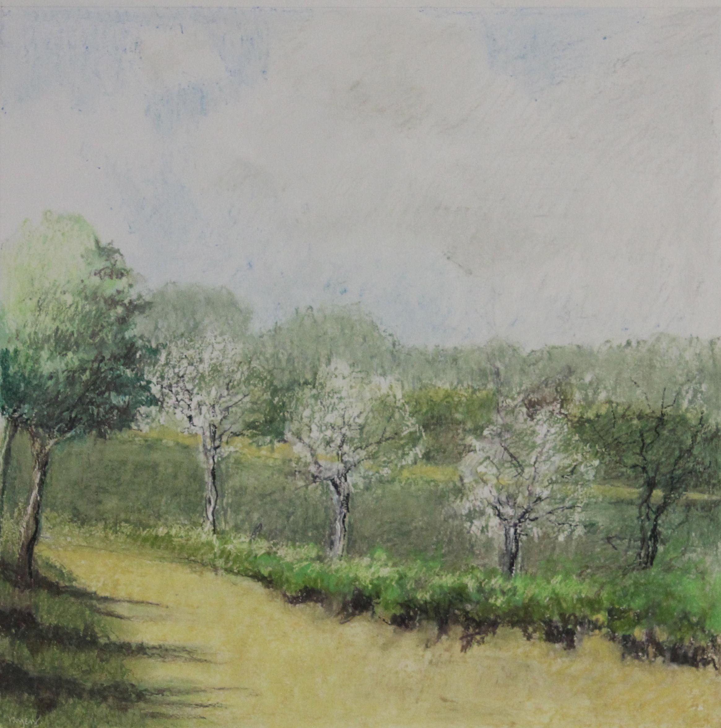 Untitled pastel on paper no.11- 15x15%22 .JPG