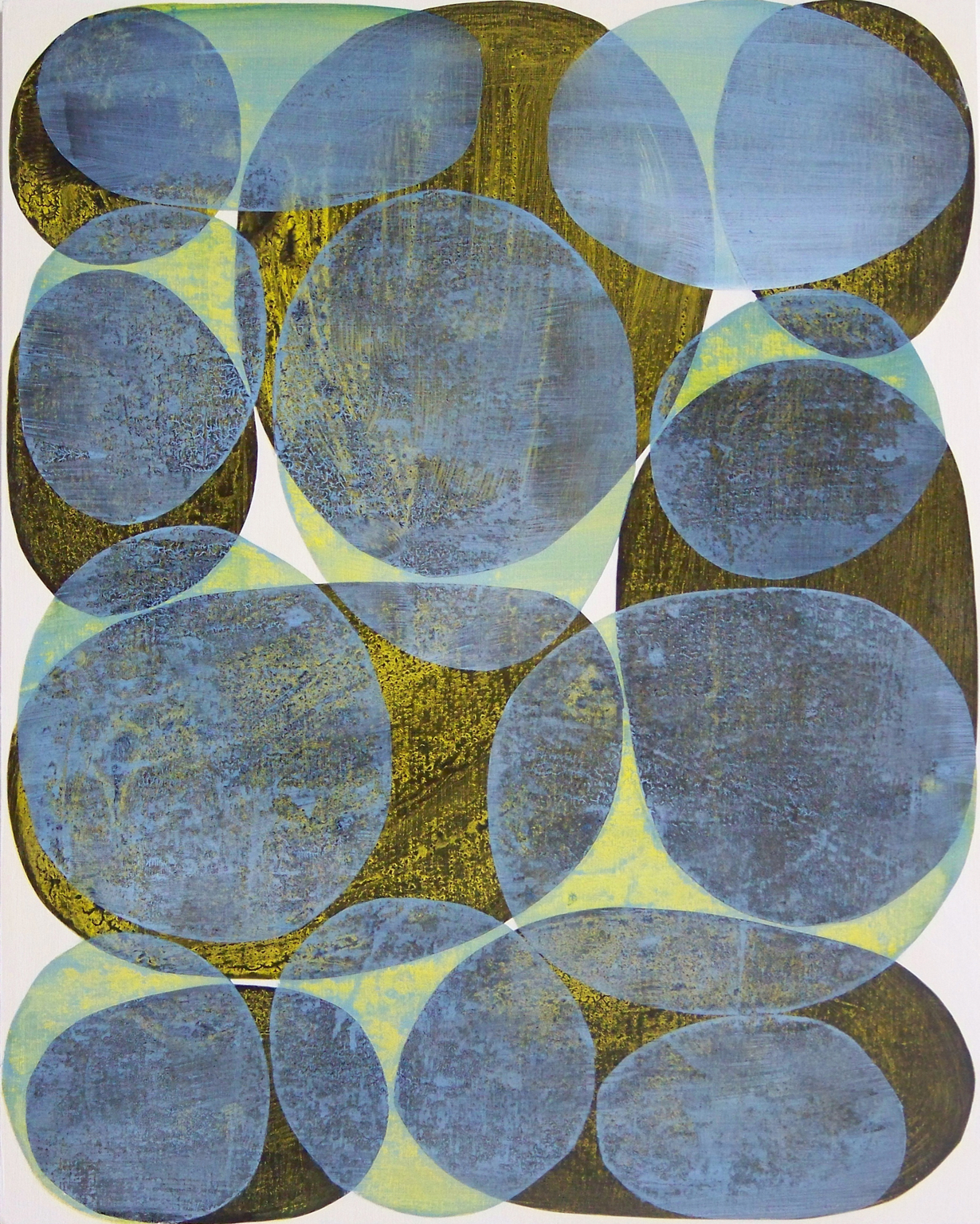 D. Driscoll,  Inner Garden 23 , acrylic on panel, 20x16