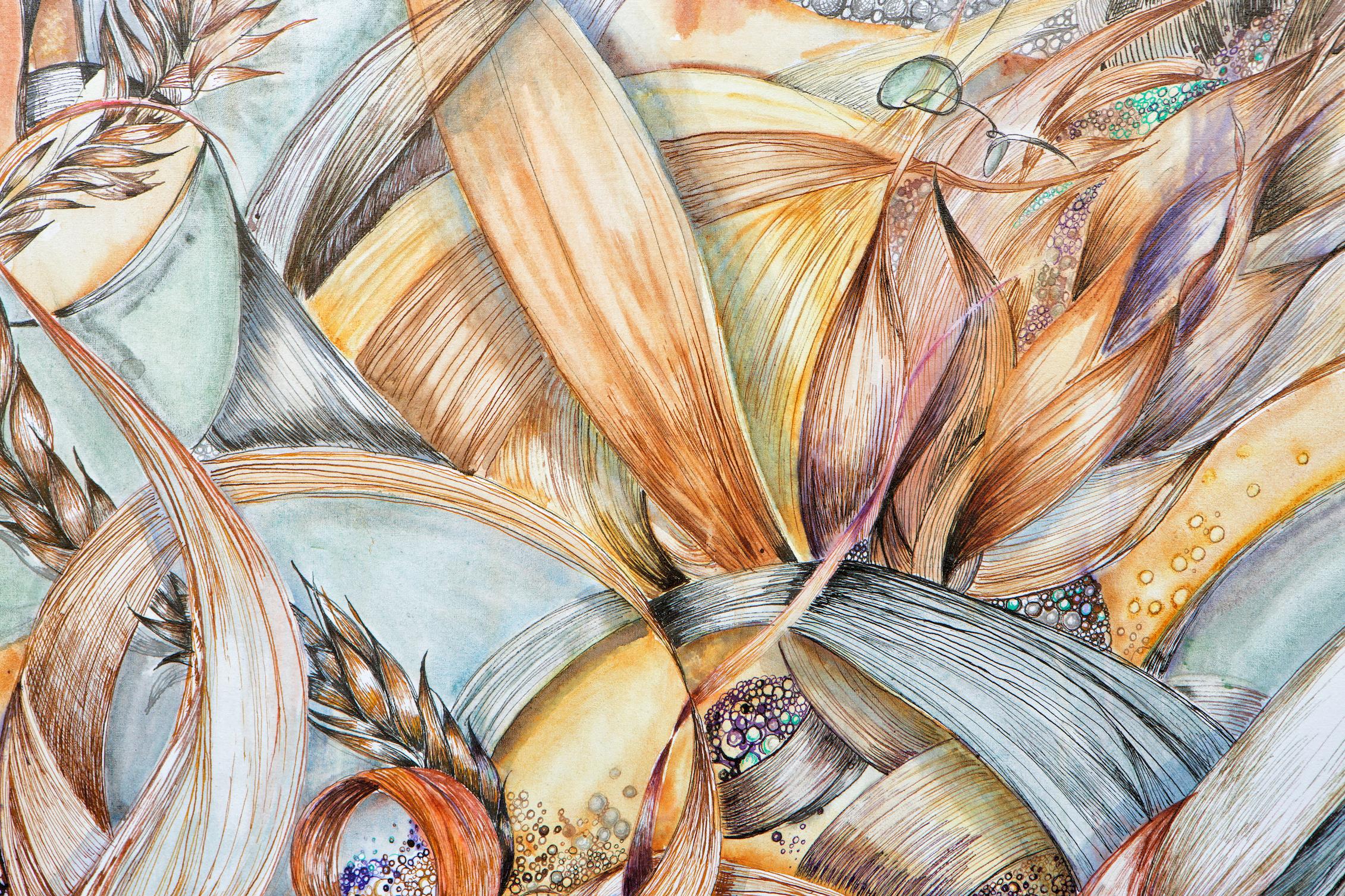 """Image: Detail of """"Somewhere Else Instead"""" – Sarah Alexander"""