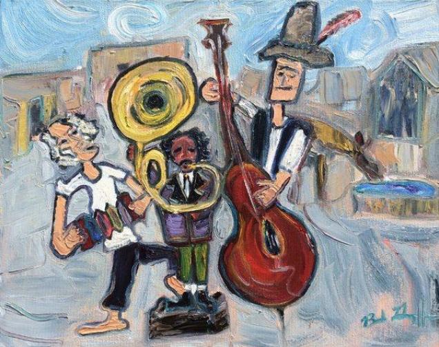 "Bob Grignaffini's ""Mesa Valley Drifters"""