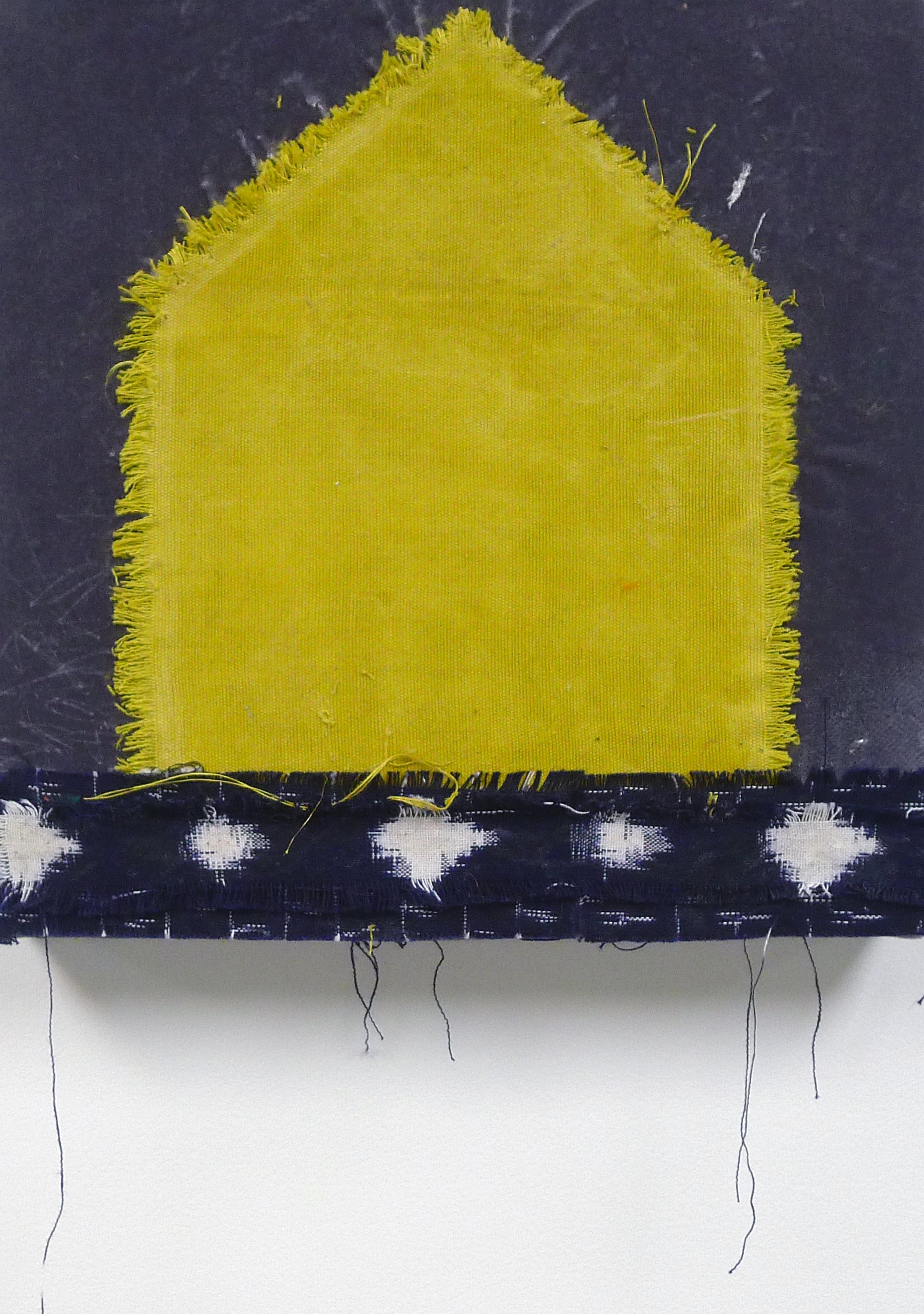 Brenda Cirioni,  Dream House: Happy , Fabric, 12x12