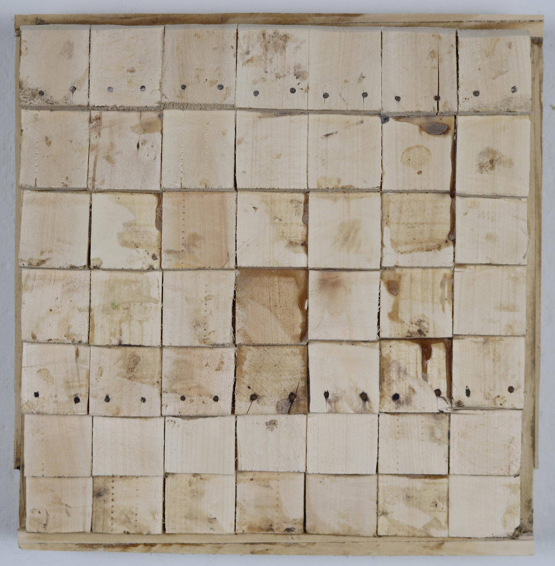 Leslie Zelamsky,  Dwelling II , Wood, 11x10.5
