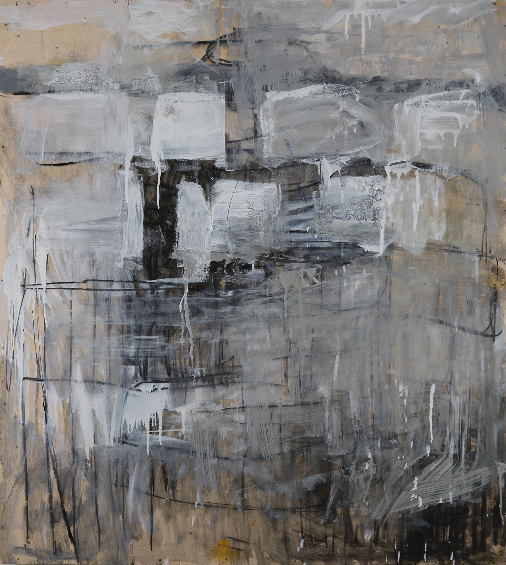 Leslie Zelamsky,  Dwelling V , Mixed media, 40x36