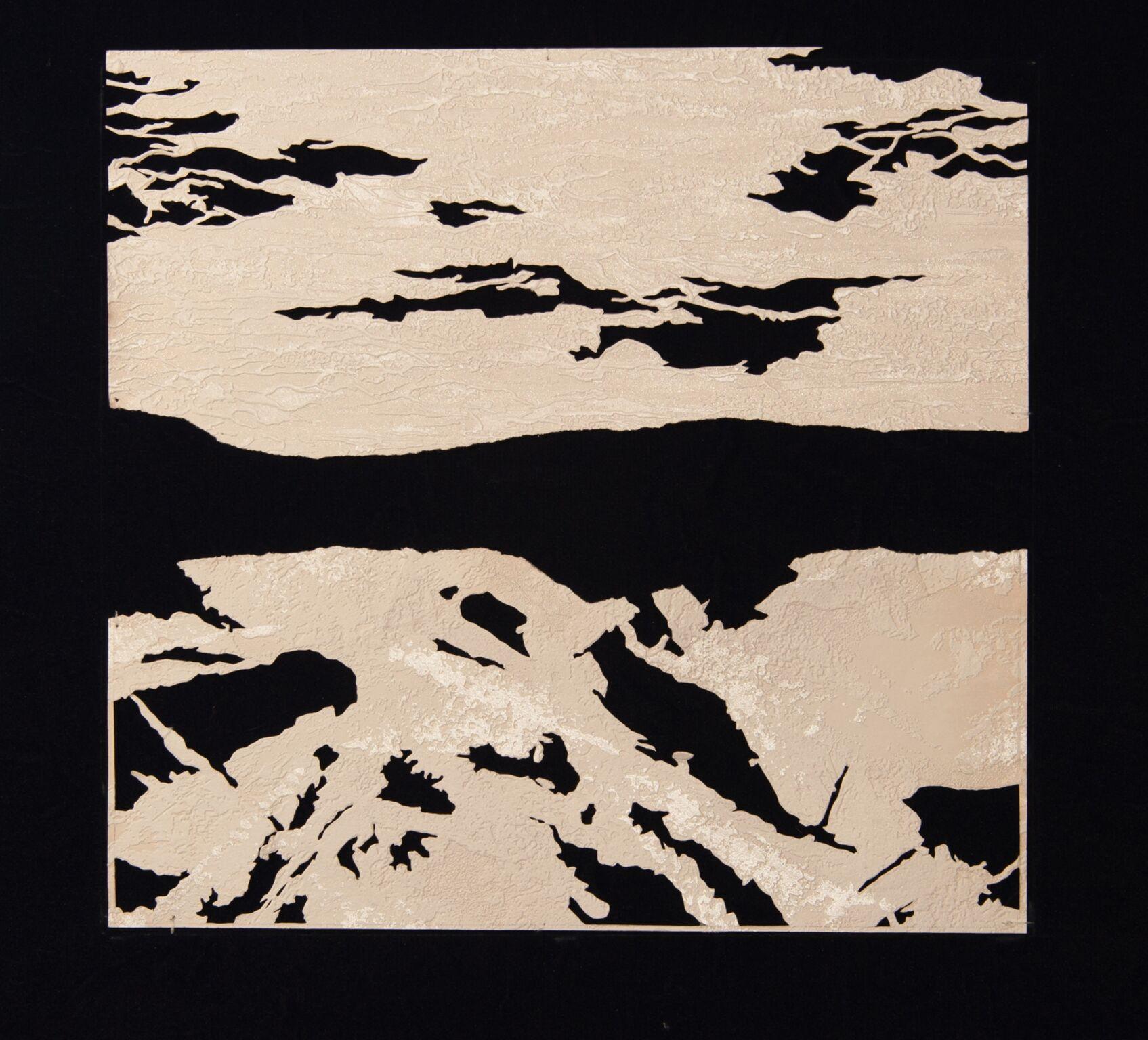 Jane Paulson, Topography , cut paper,21 x 19,$525