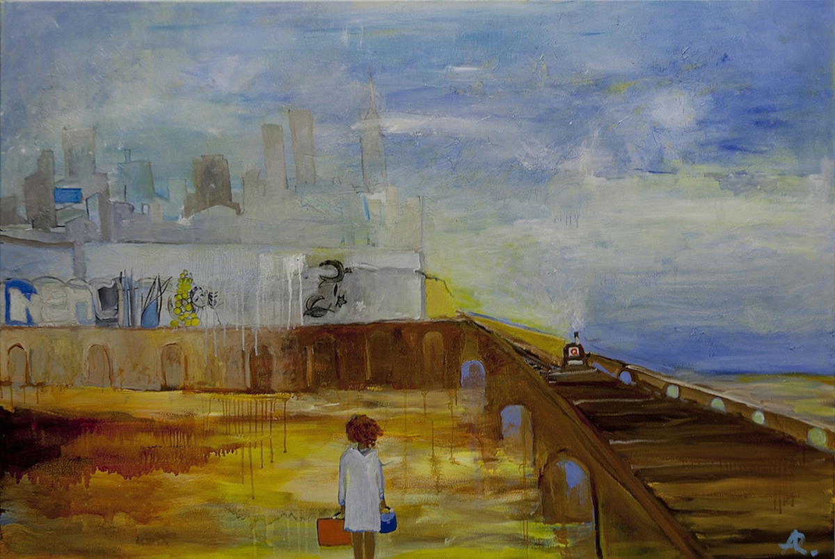 Moving with Turner to Brooklyn by Alexandra Rozenman
