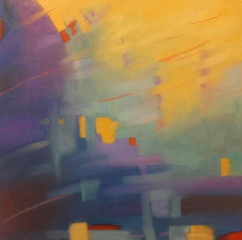 "Marcia Wise,  Luminoso , oil, 24"" x 24"""