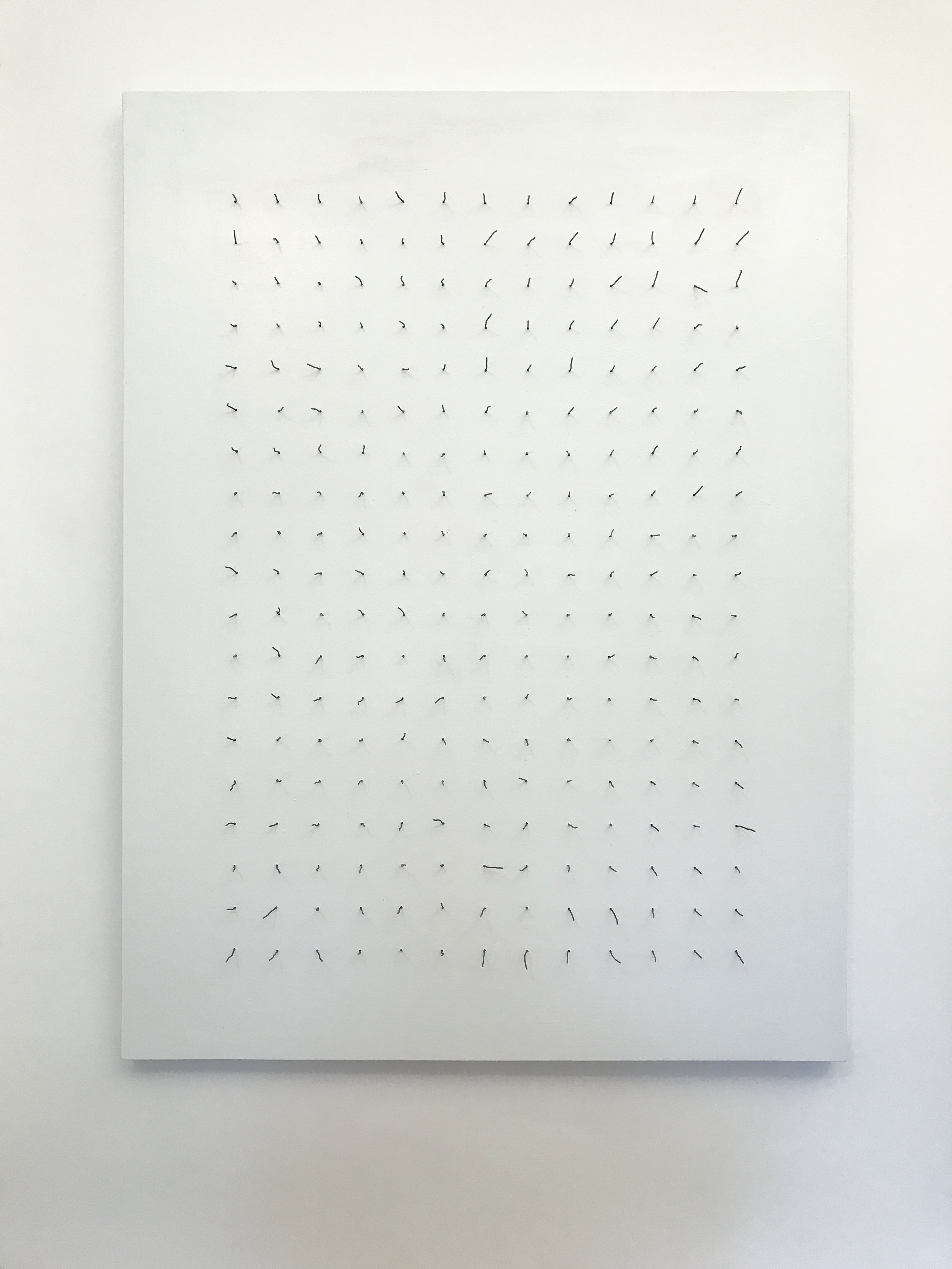 Doug Cross,  Similar But Different , Wire and wood, 3'x4'