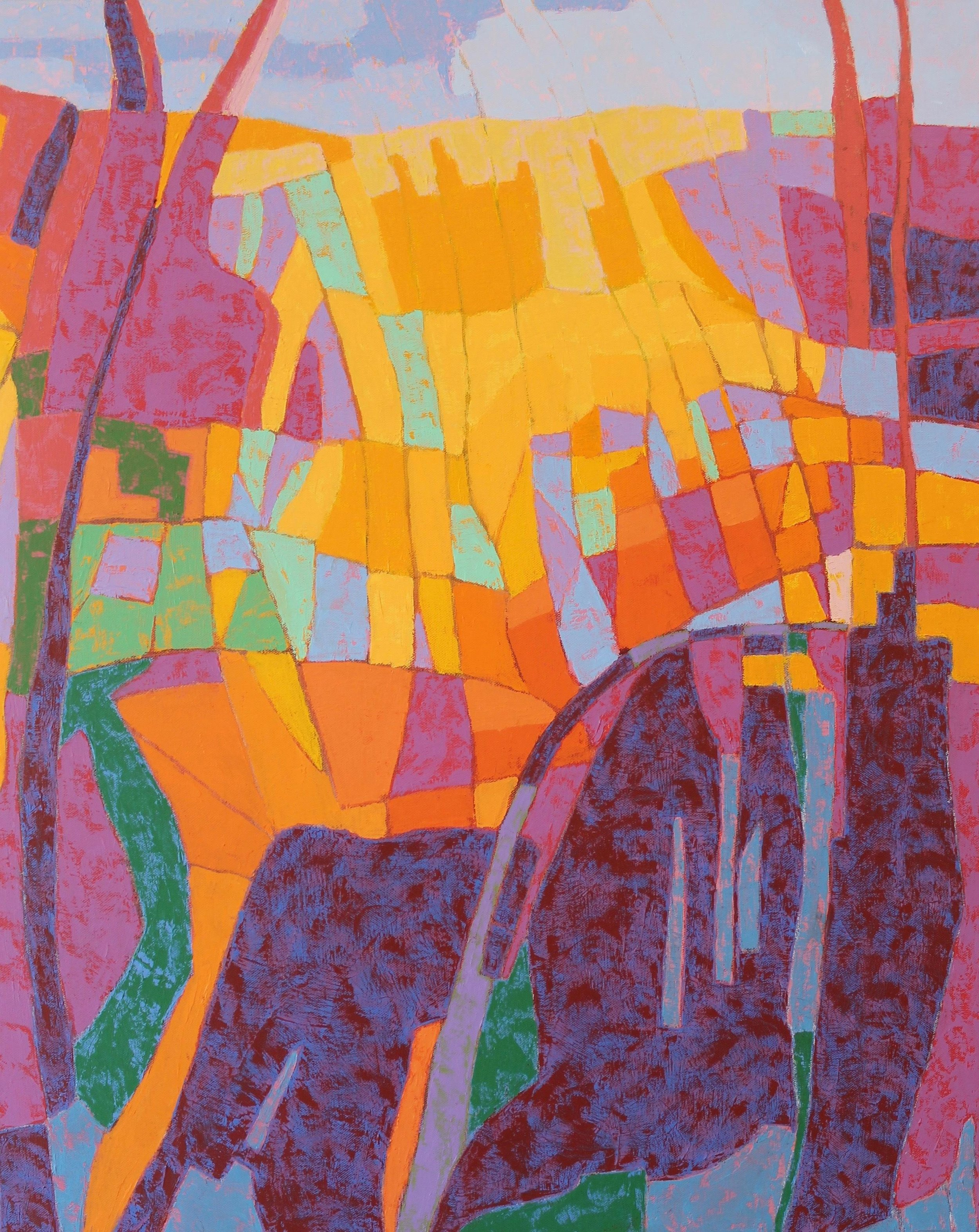 """""""Canyon Song"""" (detail)by Marcia R. Wise"""