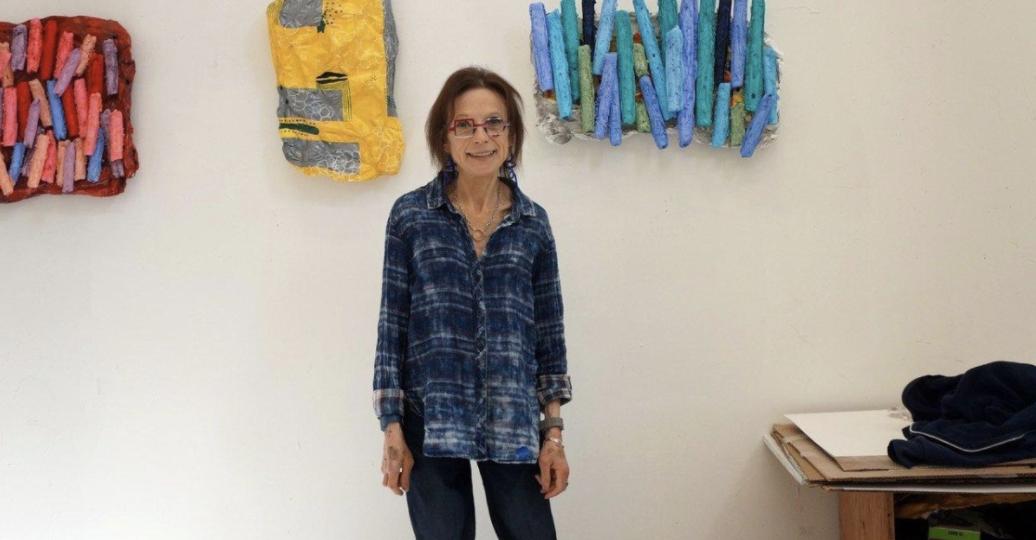 Susan Greer Emmerson in her studio.