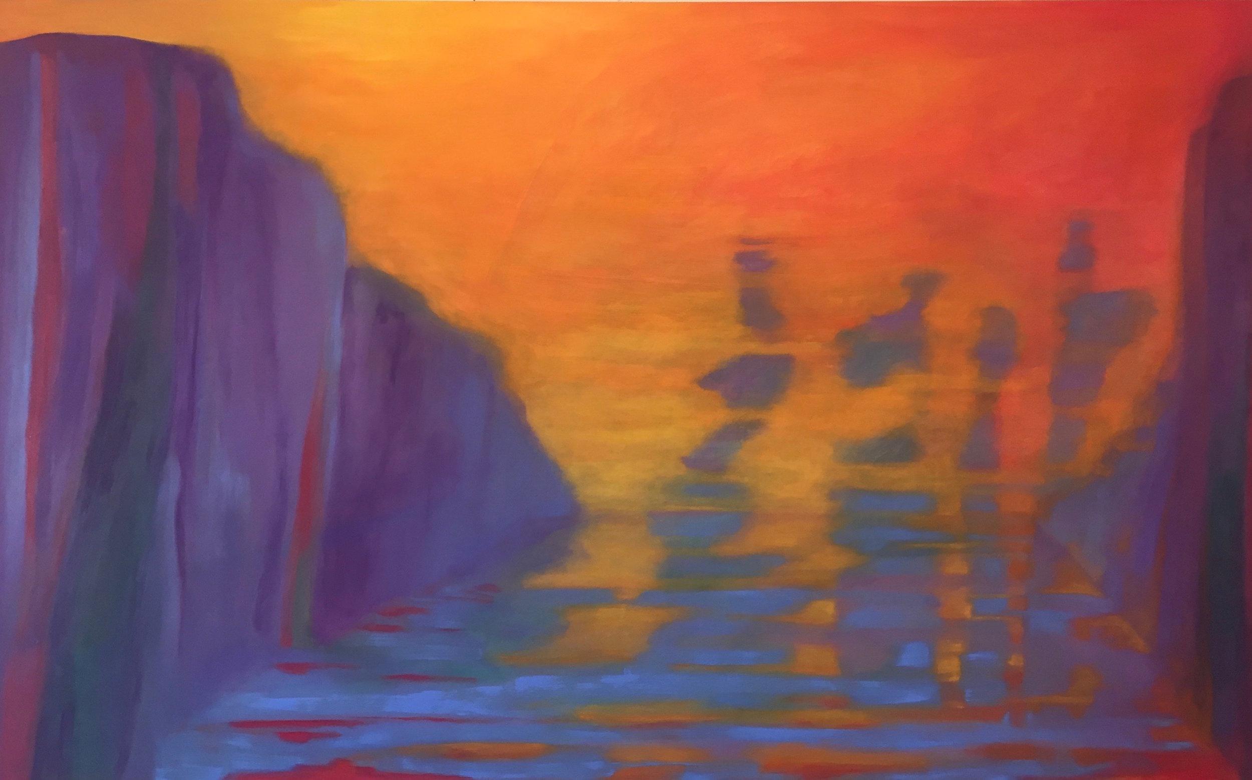 Marcia Wise,  Aspetto , Oil, 36x60