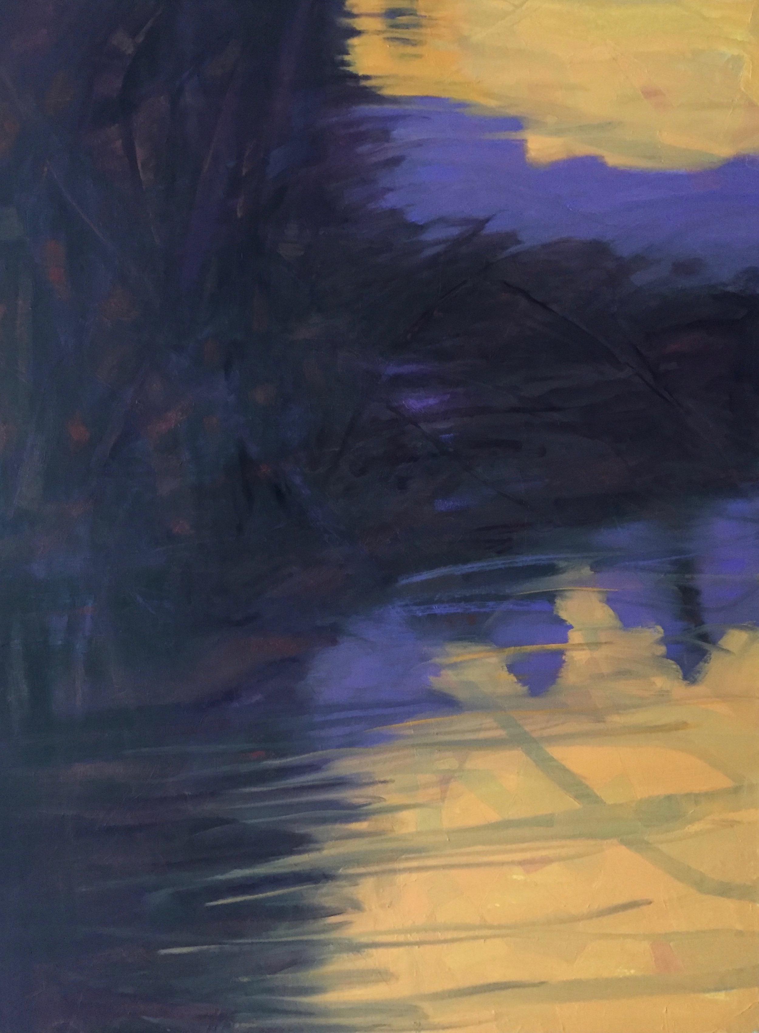 Marcia Wise,  Fermata , Oil, 40x30