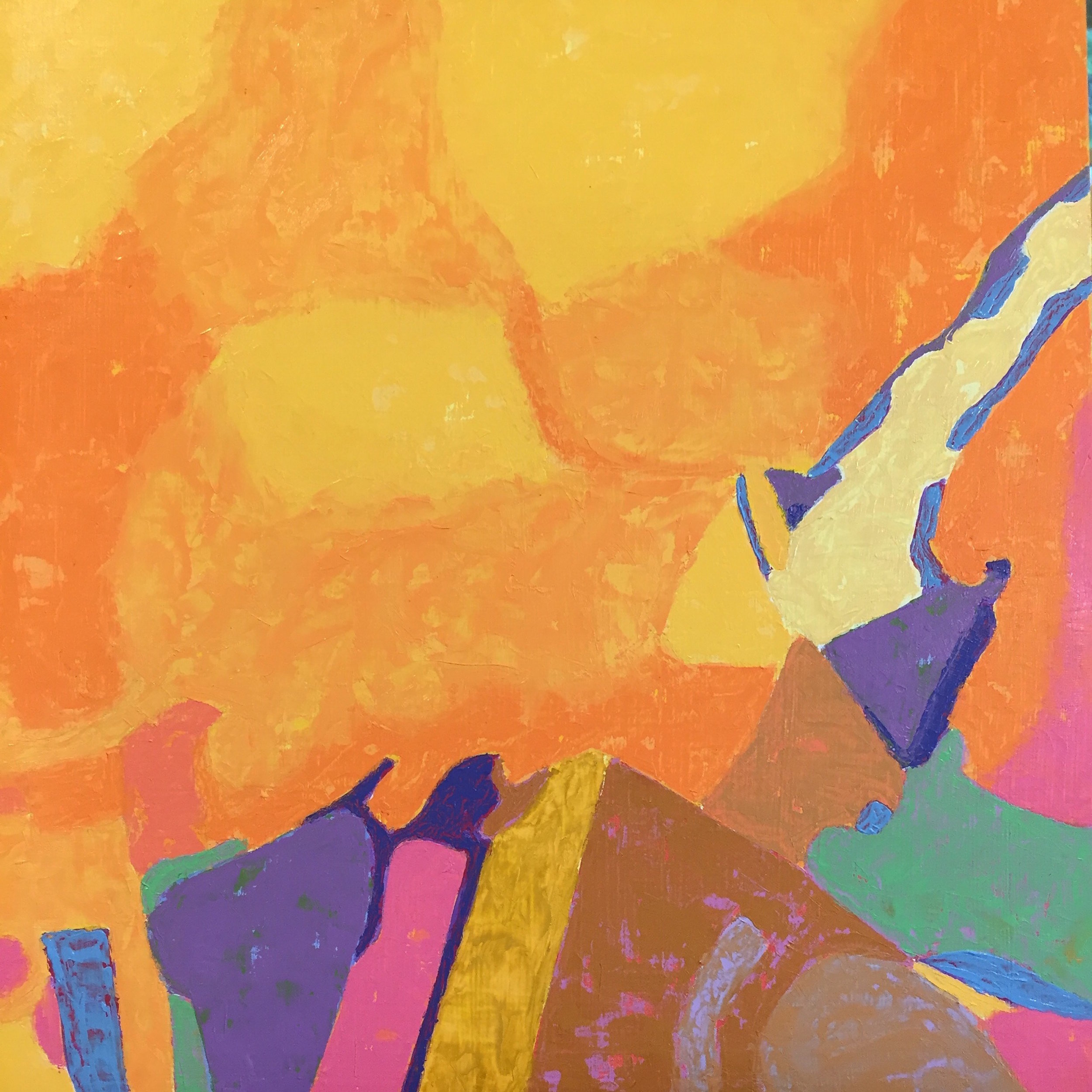 Marcia Wise,  Landscape of Dreams , Oil, 12x12