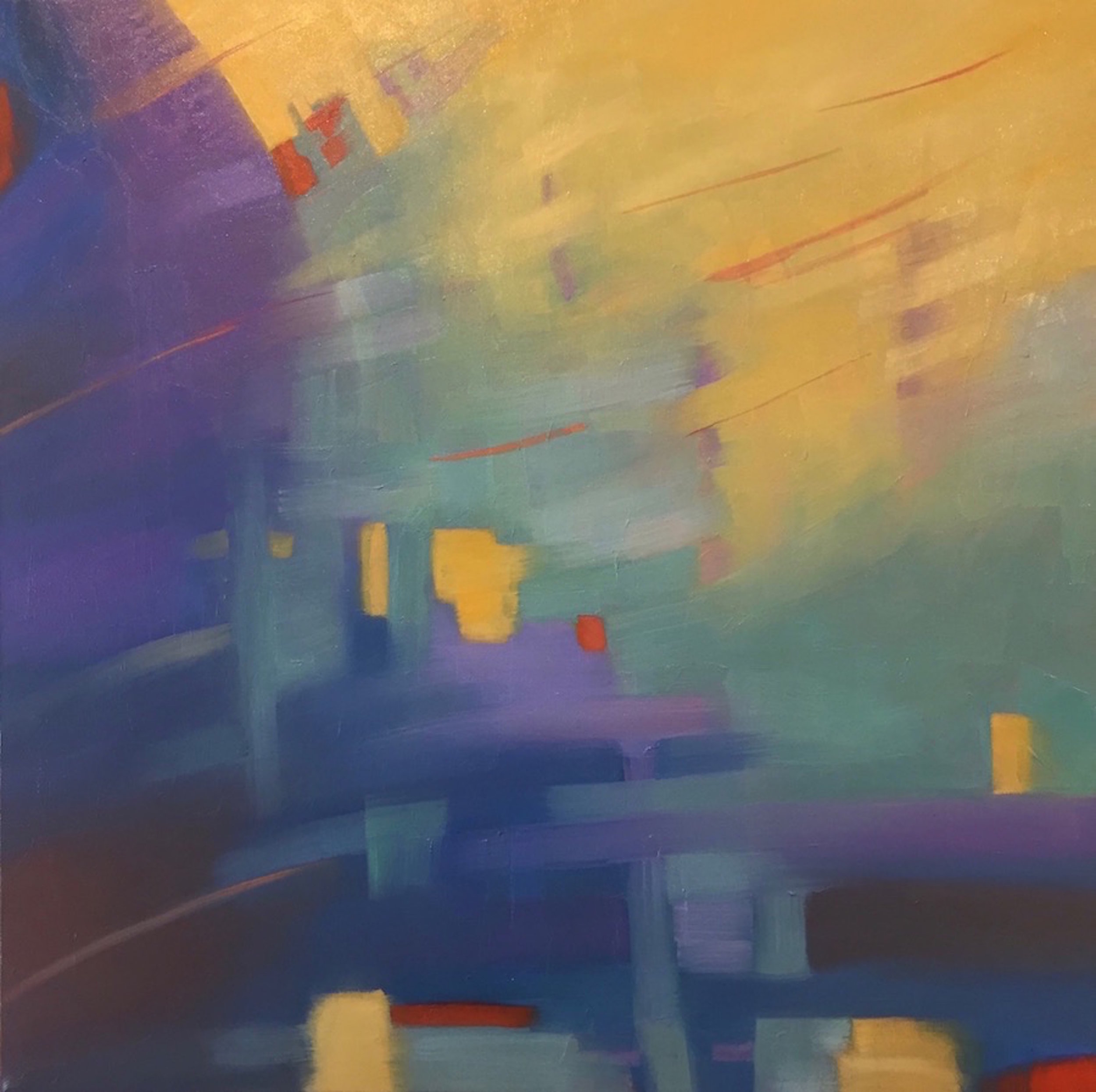 Marcia Wise,  Luminoso , Oil, 24x24