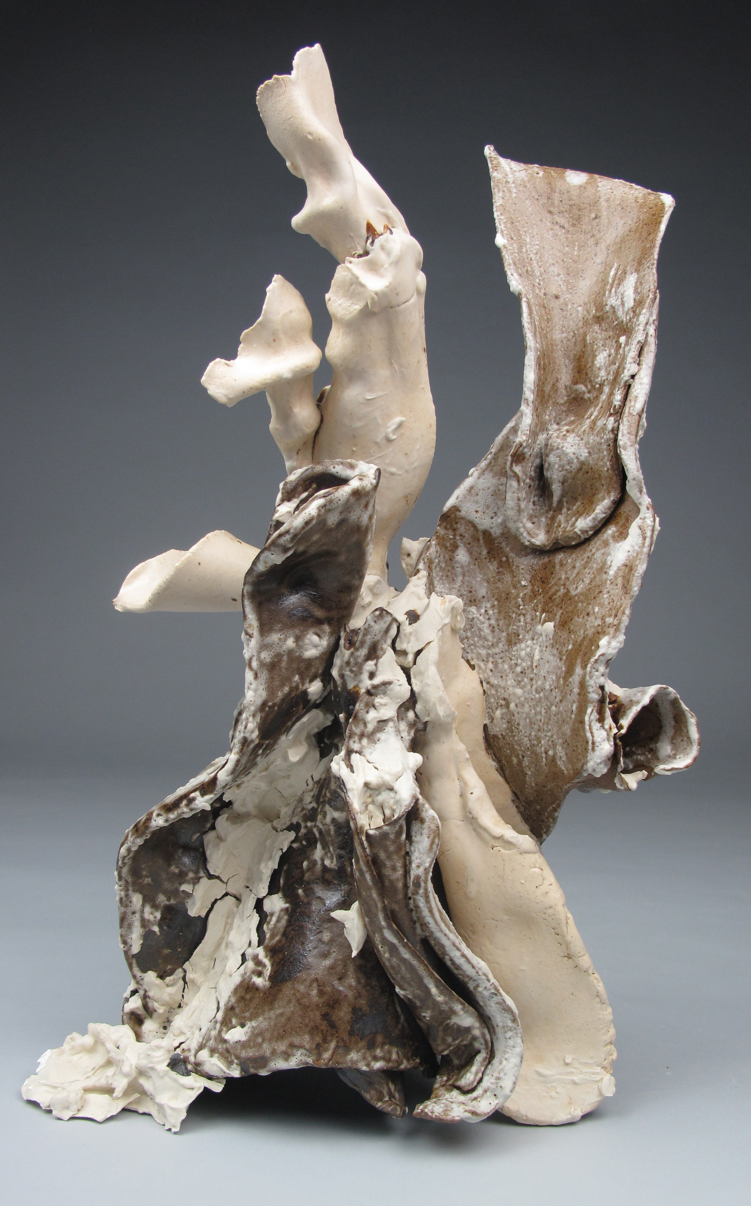 Sara Fine-Wilson,  Jagged , ceramic, 14x10x10