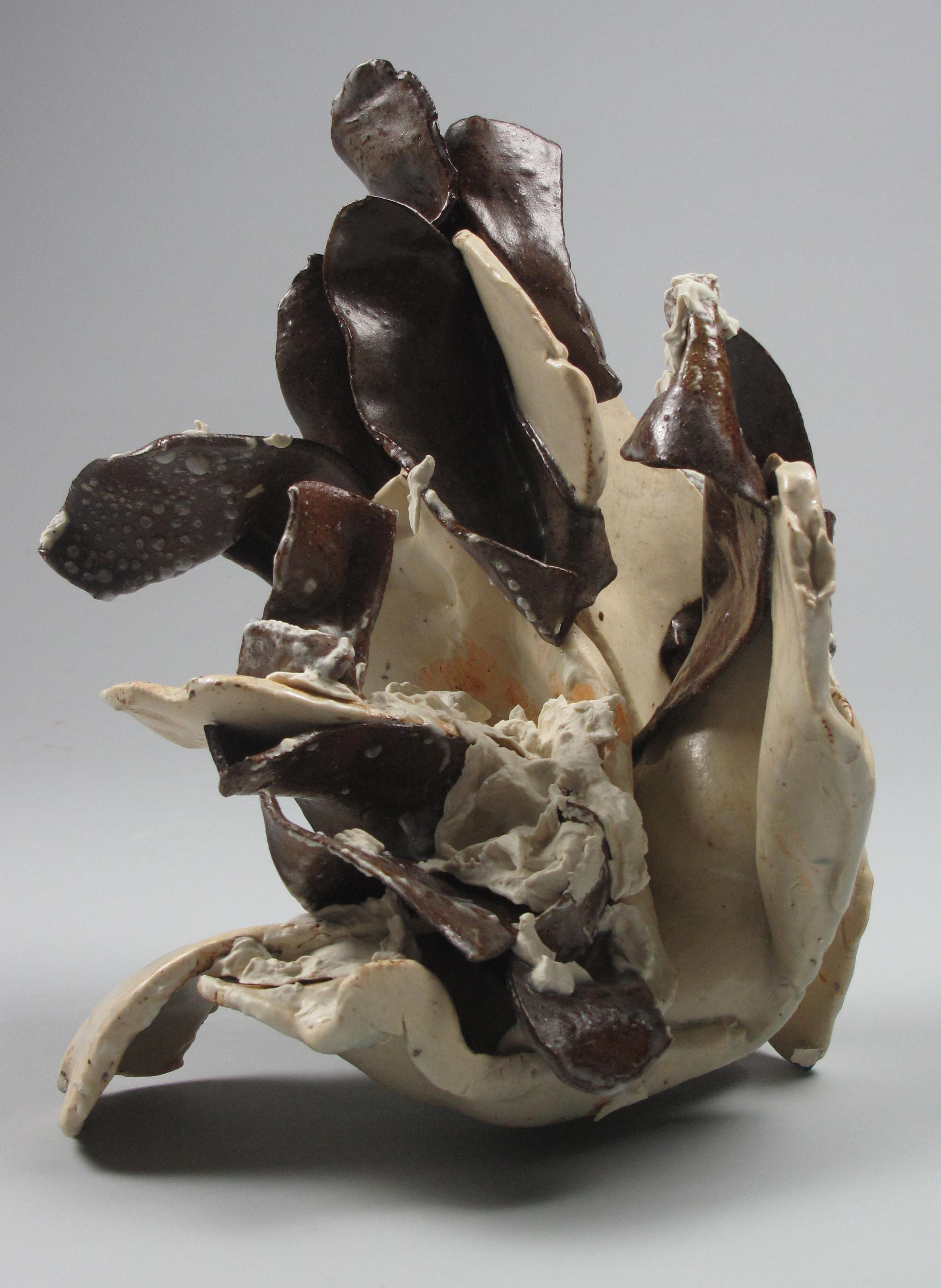 Sara Fine-Wilson,  Orange Surprise , ceramic, 10x12x12