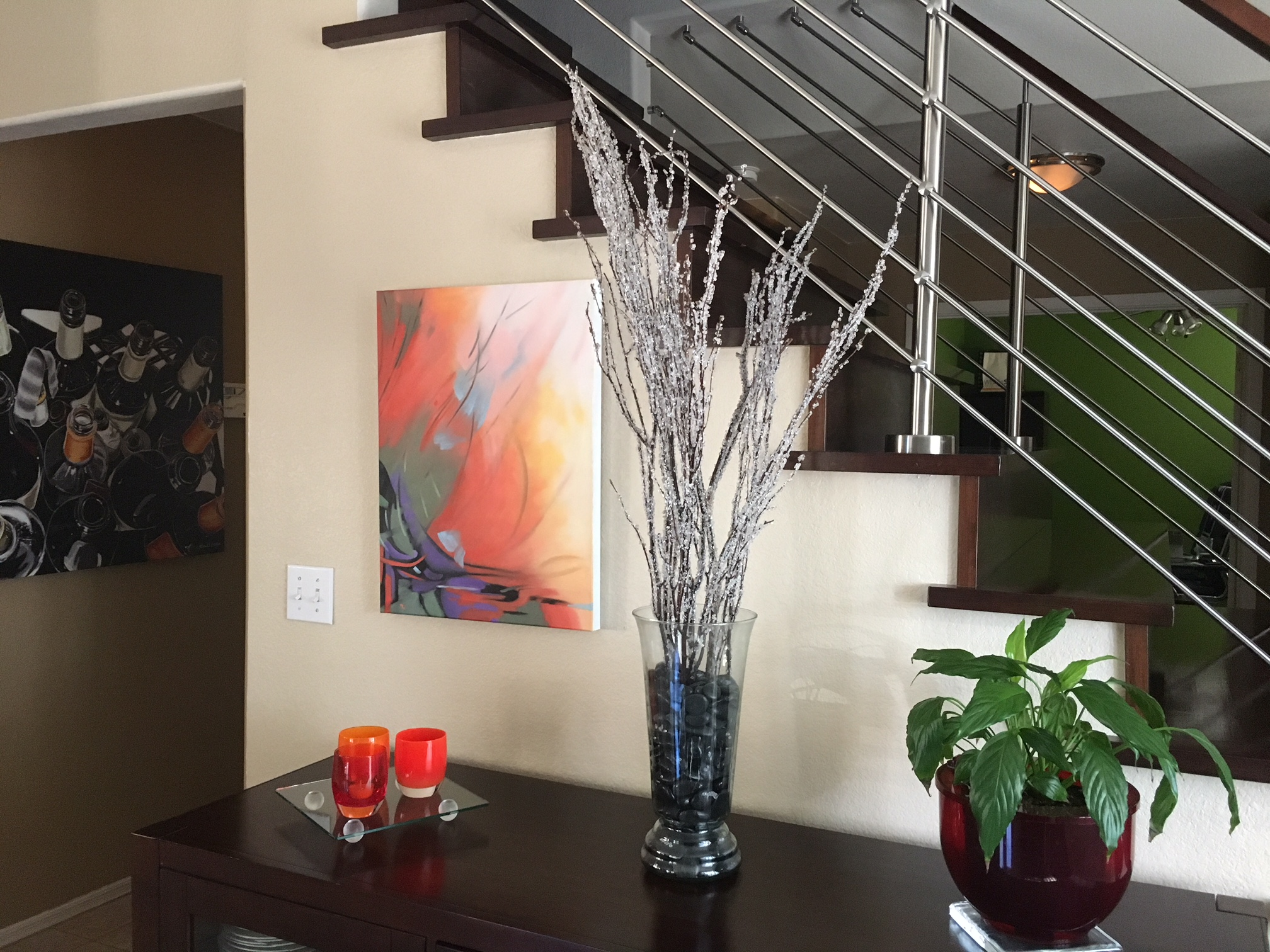 ' Grazioso ' by Marcia Wise, installed in a collector's home.  See more…