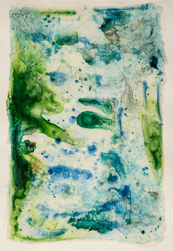 """River Of Dreams 6 , acrylic on paper, 24"""" x 18"""""""