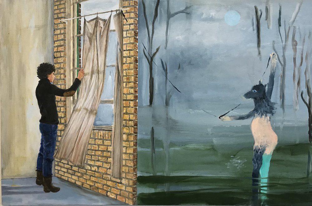 "Alexandra Rozenman's ""The Two Worlds."""