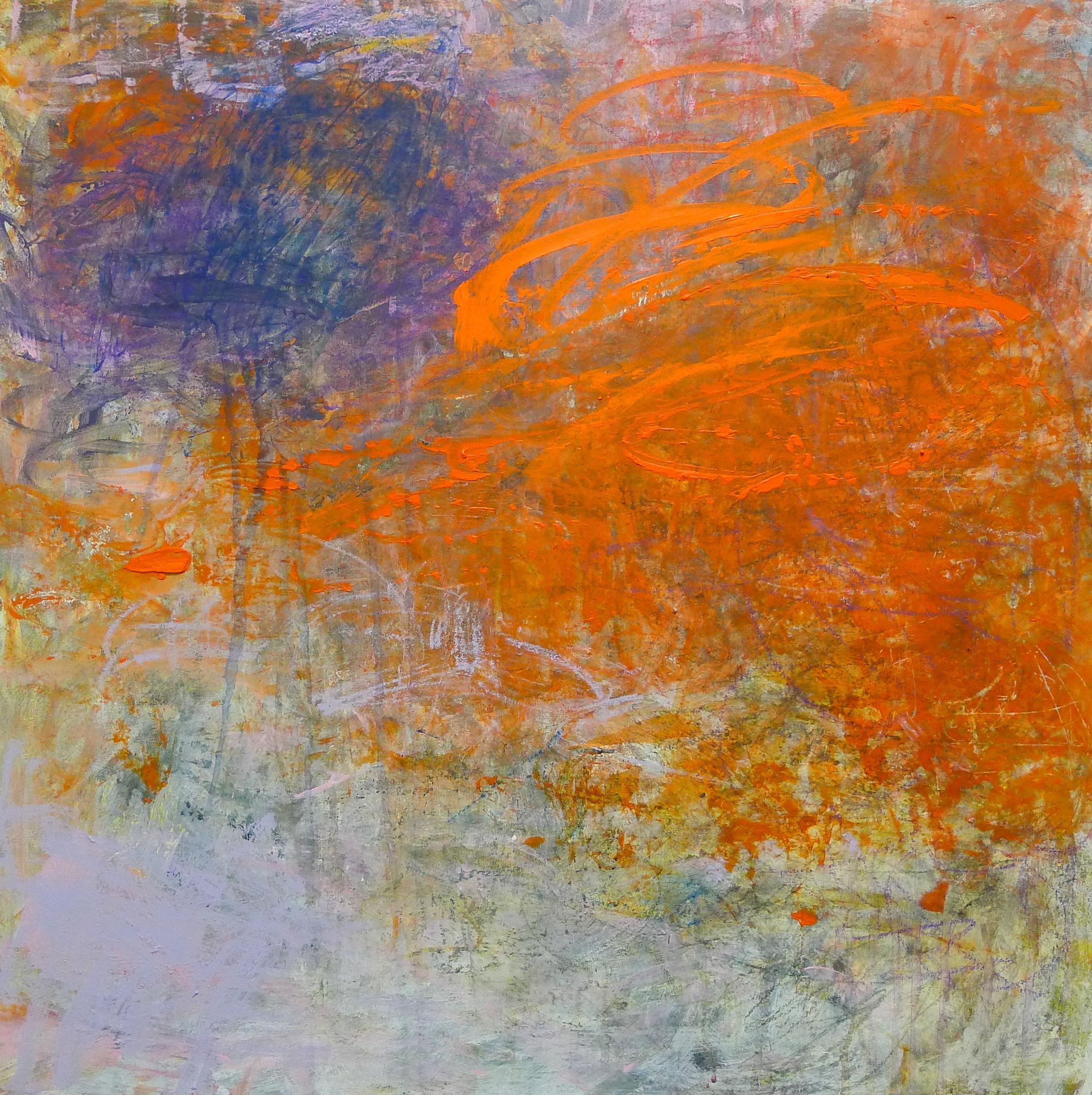 Cirioni,  Mazama 2 , Acrylic on panel, 24x24