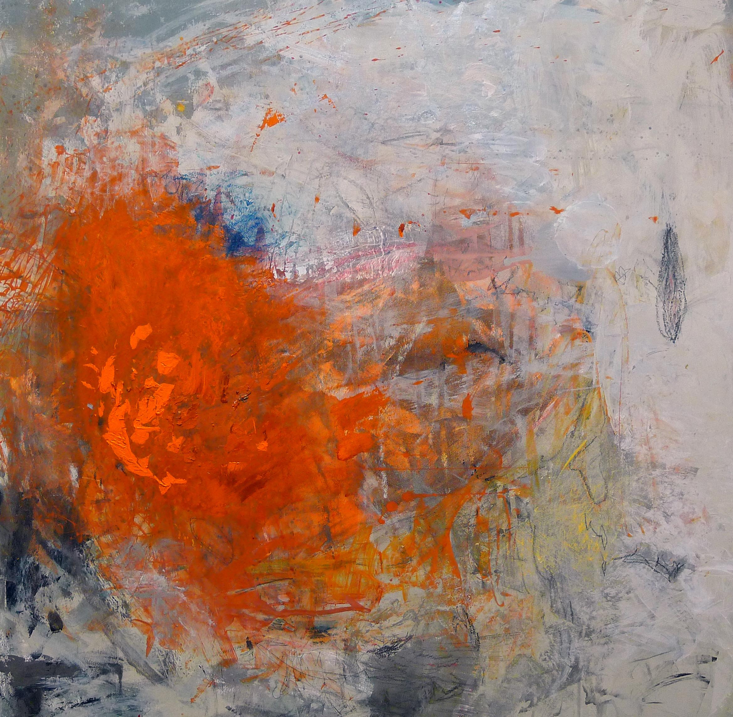 Cirioni,  Mazama 1 , Acrylic on panel, 24x24