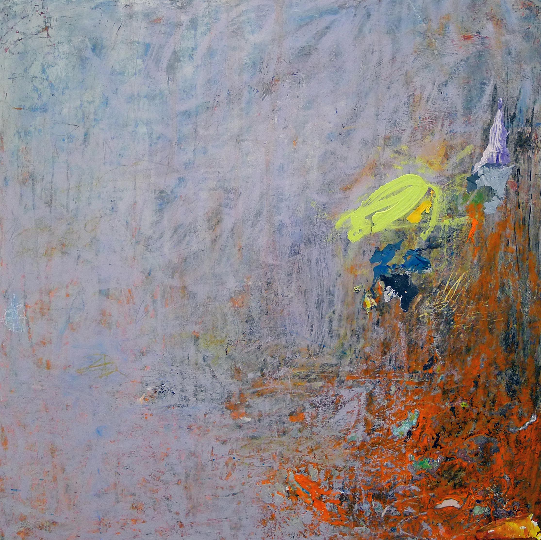Cirioni,  Mazama 4 , Acrylic on panel, 24x24