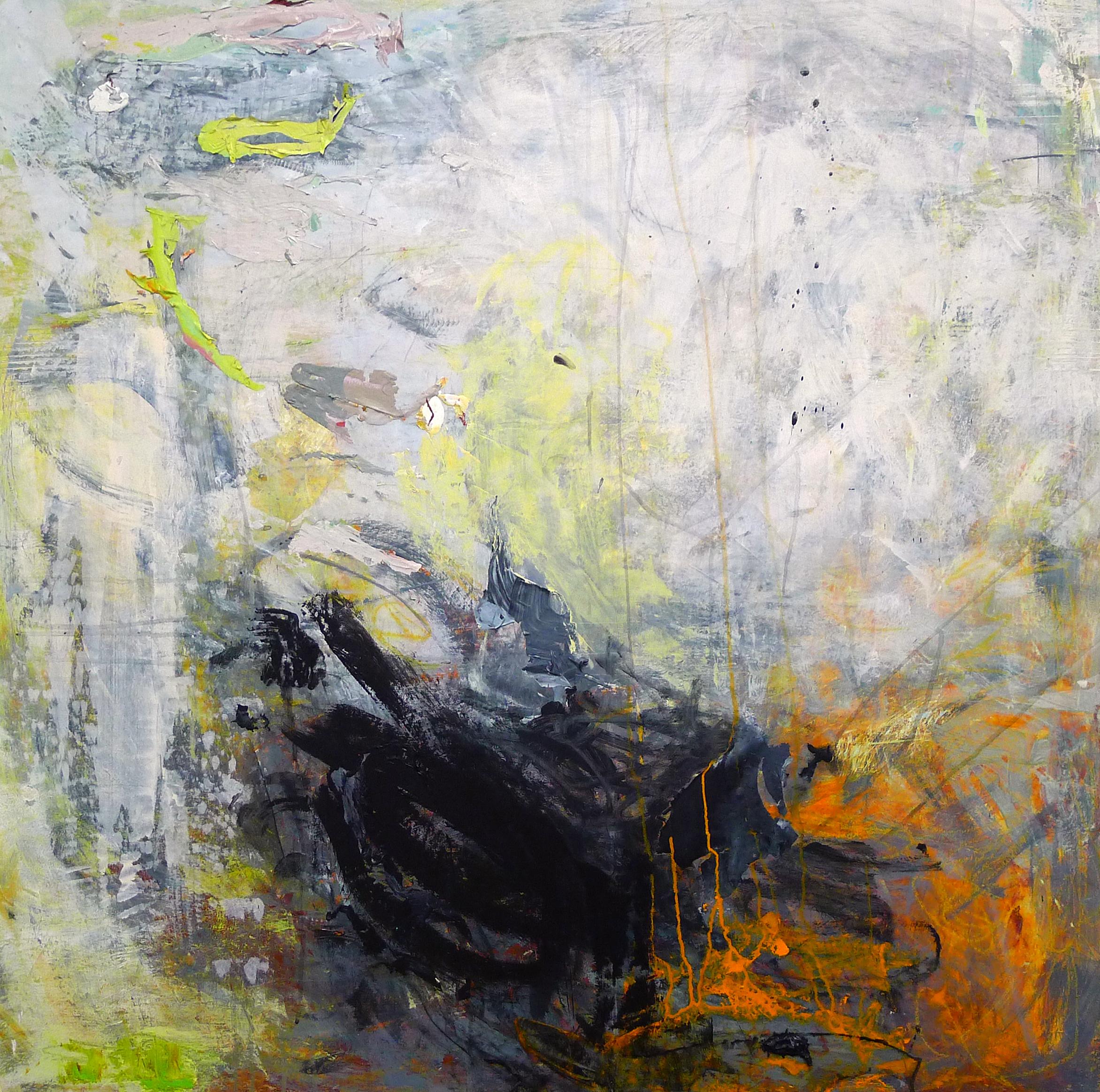 Cirioni,  Mazama 6 , Acrylic on panel, 36x36