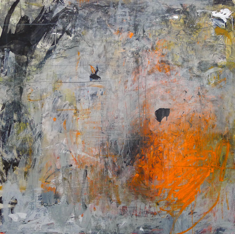 Cirioni,  Mazama 10 , Acrylic on panel, 40x40