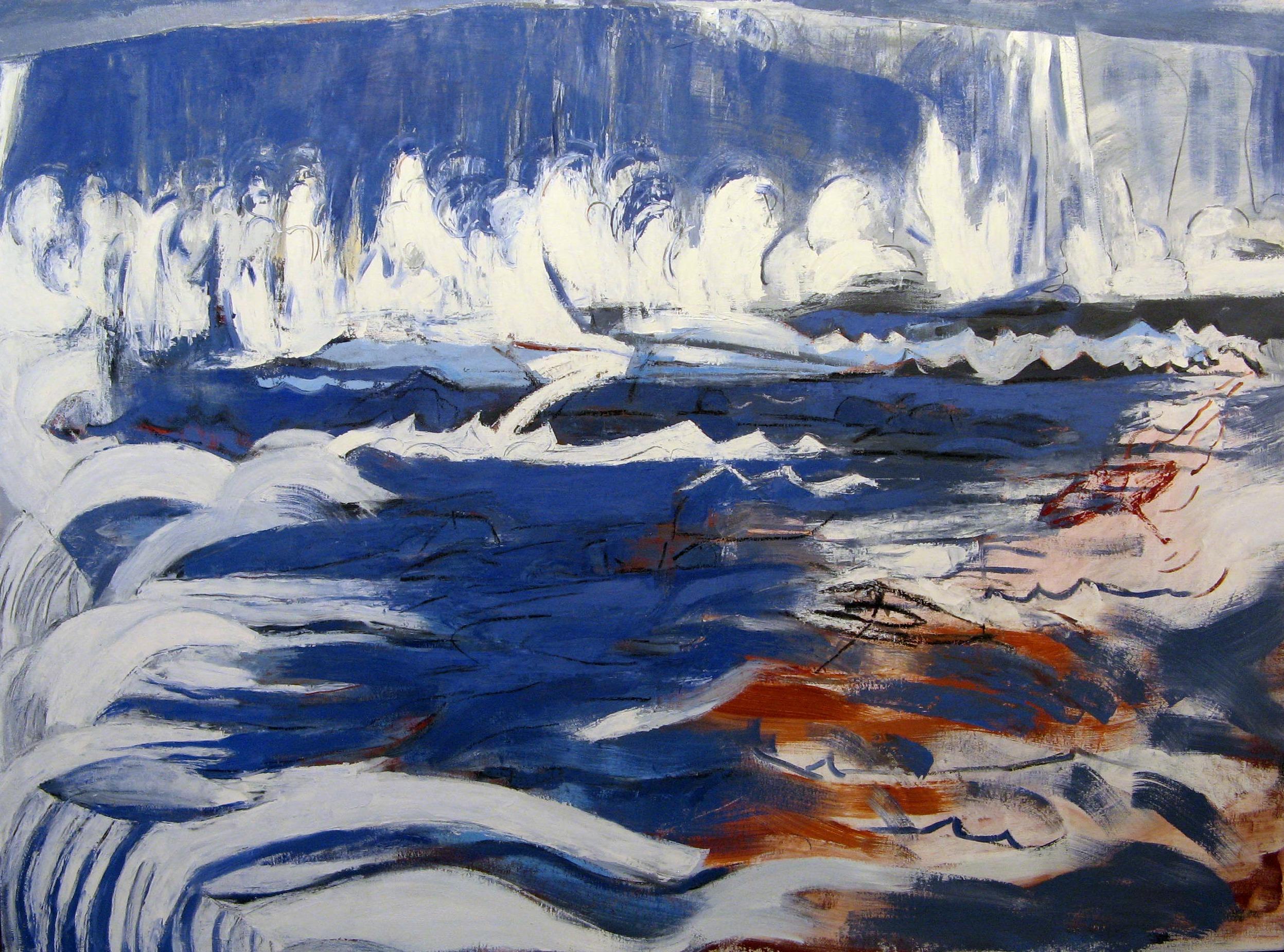Osterman,  Falls  Oil on canvas, 42x56