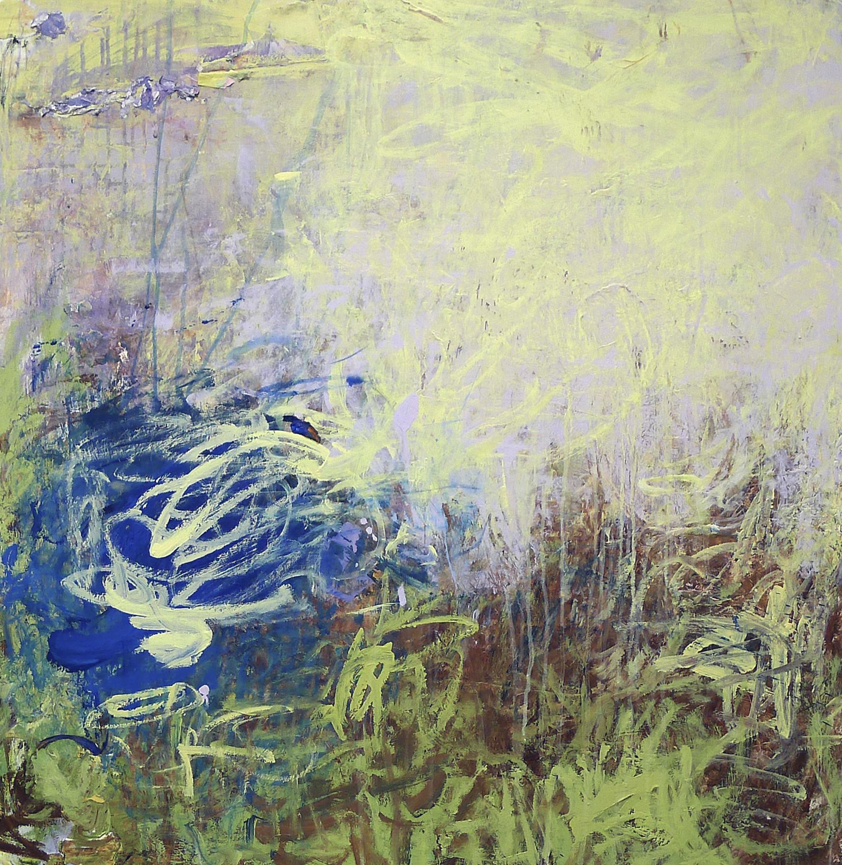 Cirioni,  Mazama 7 , Acrylic on panel, 36x34