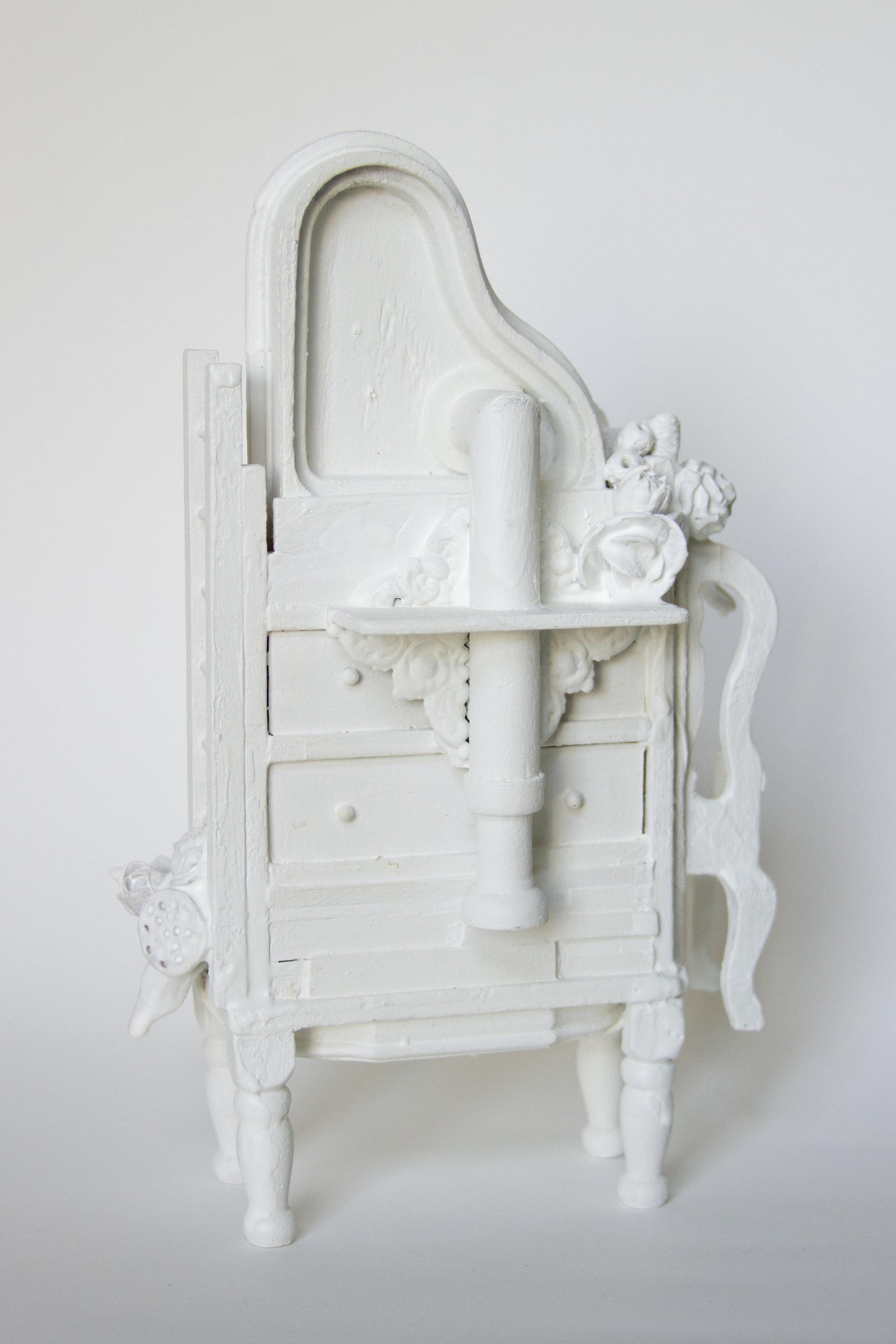 Flight of Fancy , sculpture by Chelsea Revelle